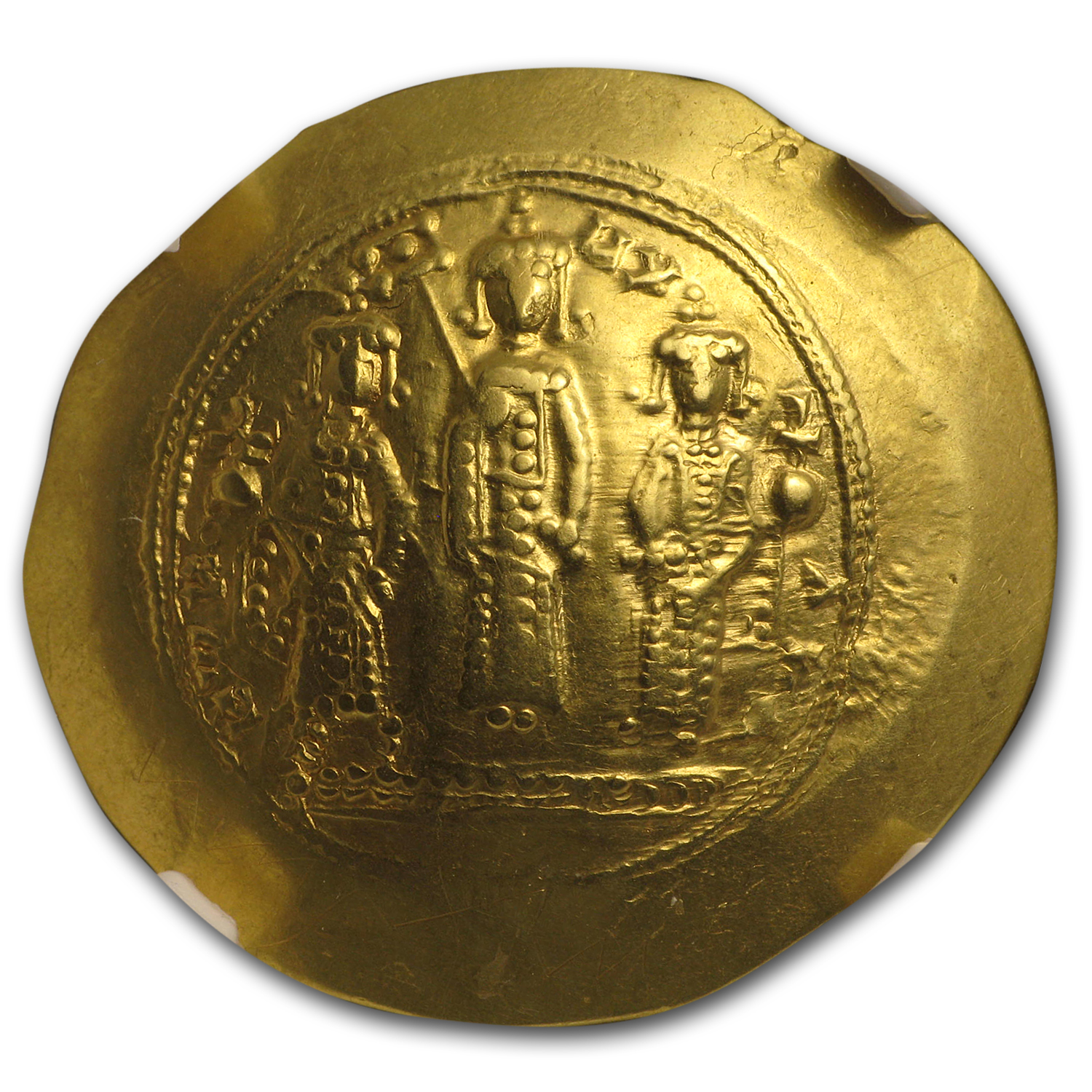 Byzantine Gold Emperor Romanus IV(1068-1071 AD) NGC (Story Vault)