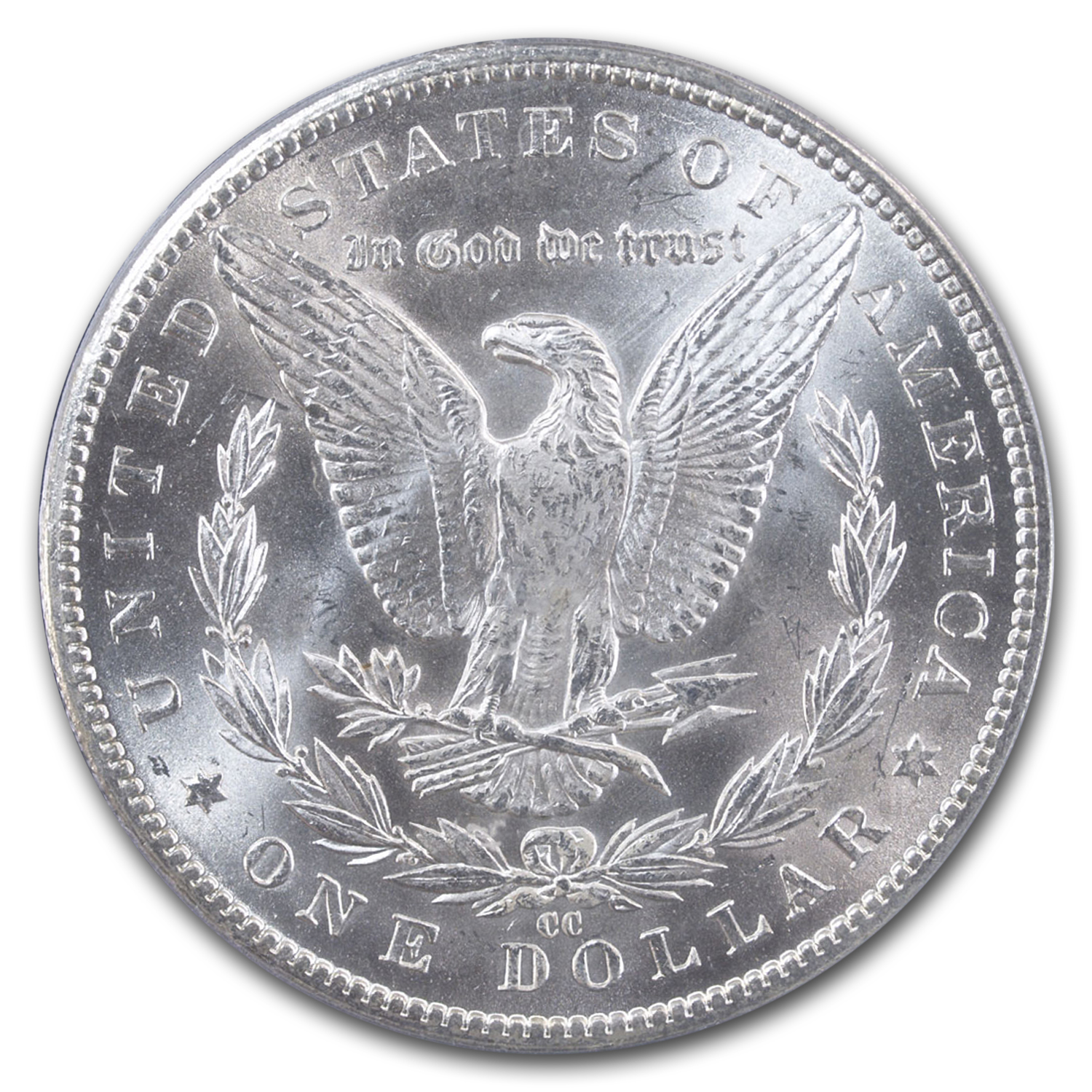 1884-CC Morgan Dollar MS-65 PCGS CAC