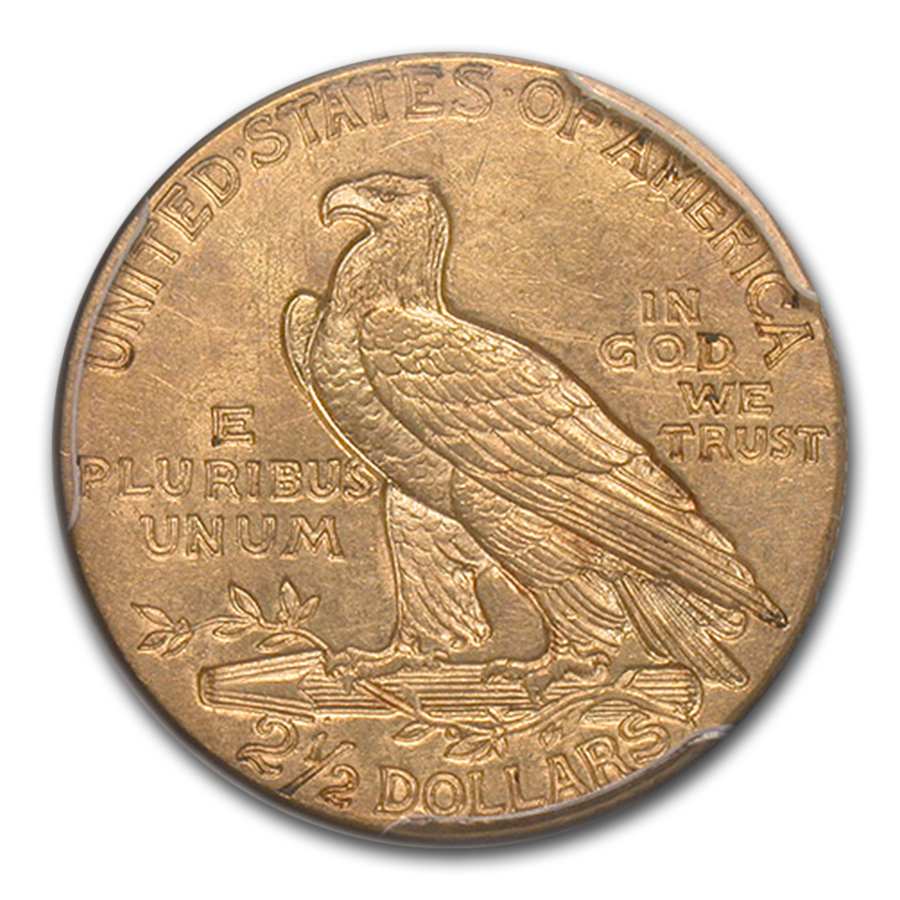 1914 $2.50 Indian Gold Quarter Eagle MS-62 PCGS CAC