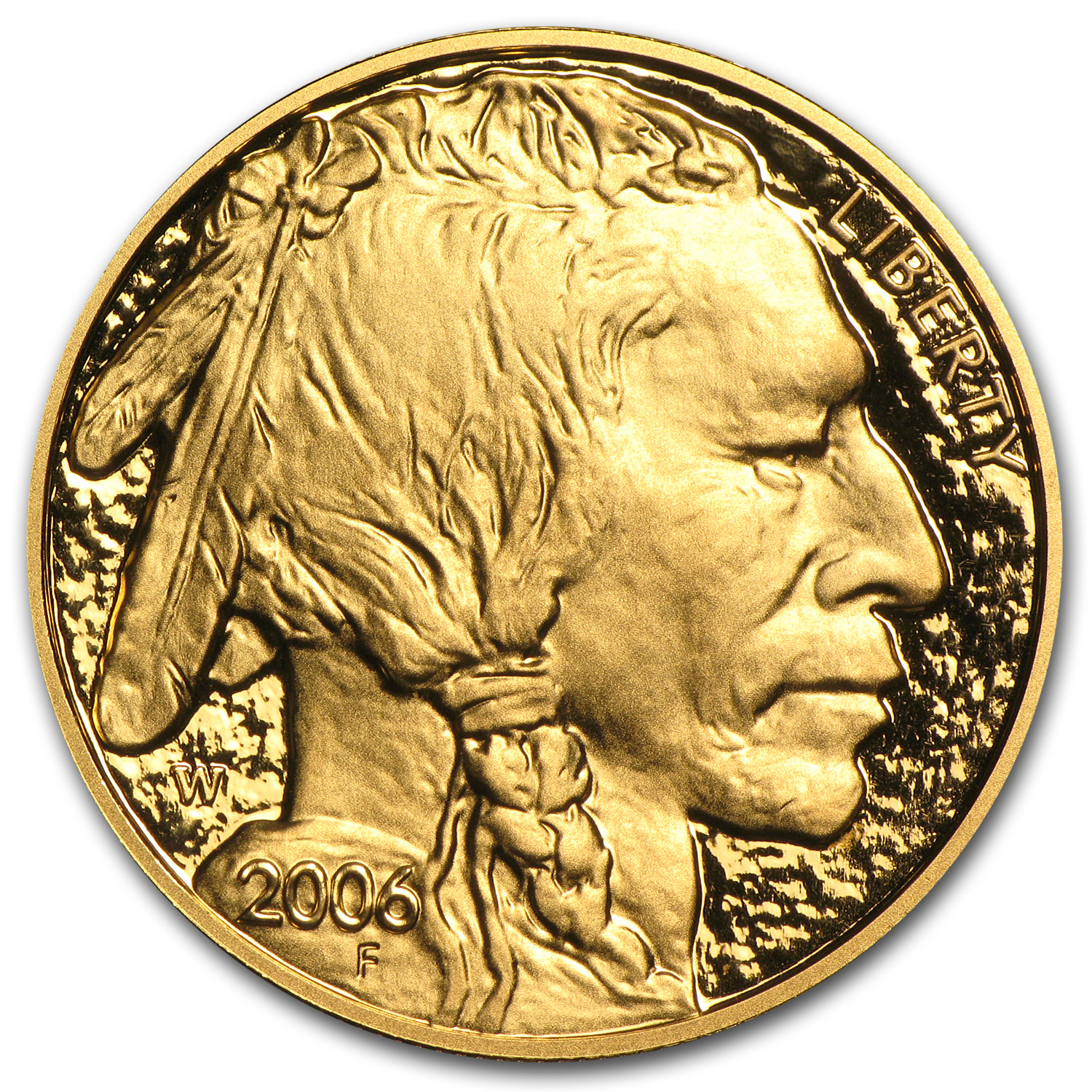 2006-W 1 oz Proof Gold Buffalo (w/Box & CoA)