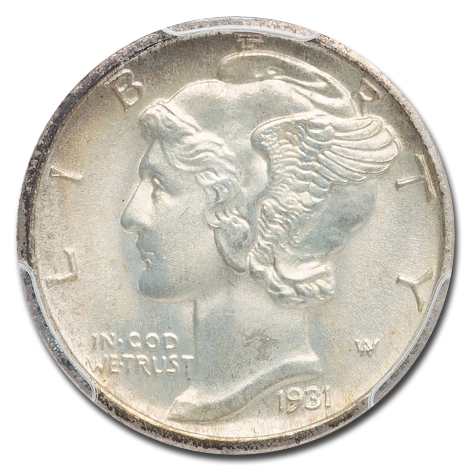 1931-D Mercury Dime MS-67 PCGS (FB)