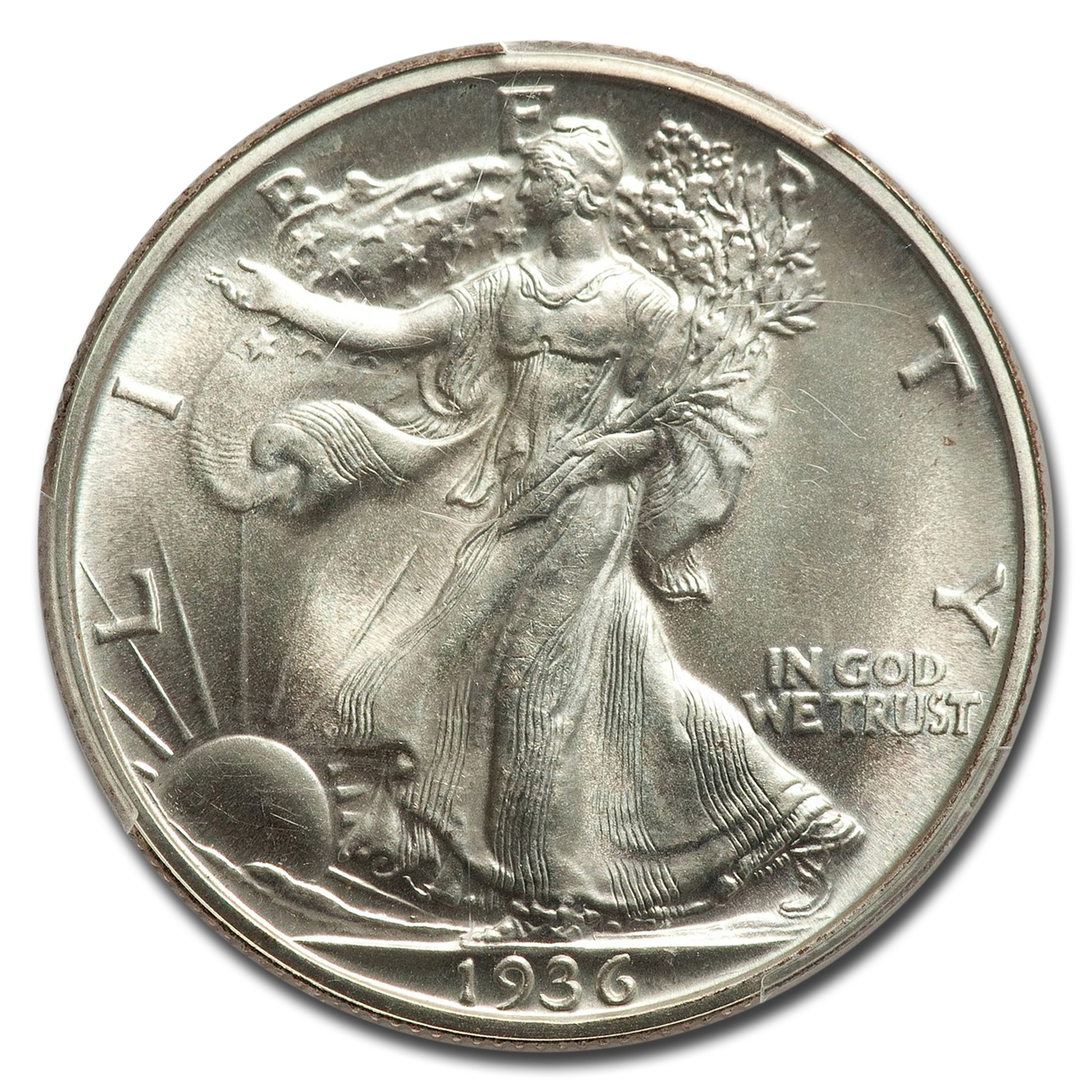 1936 Walking Liberty Half Dollar PR-67 PCGS
