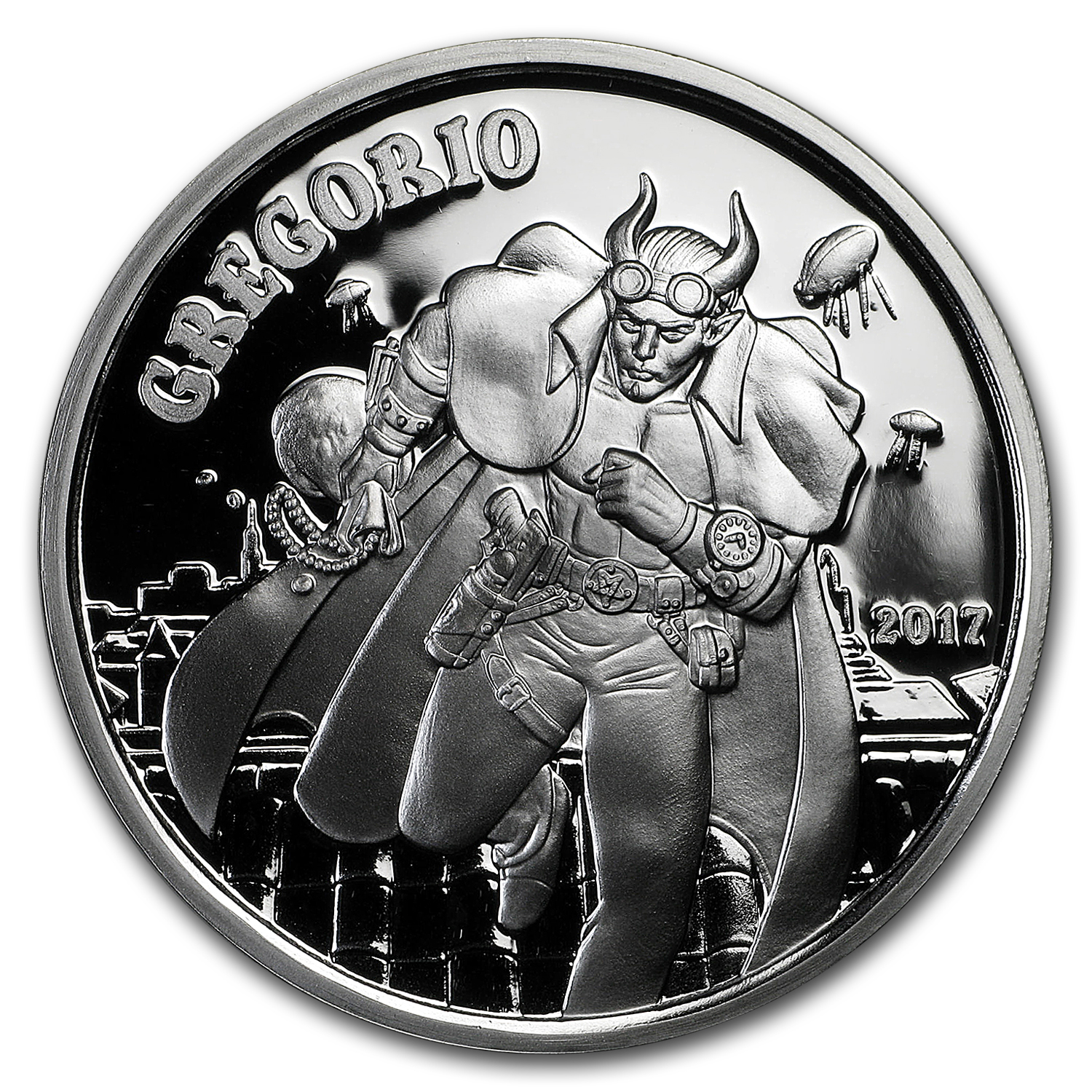 1 oz Silver Proof Round - Angels & Demons Series (Gregorio)
