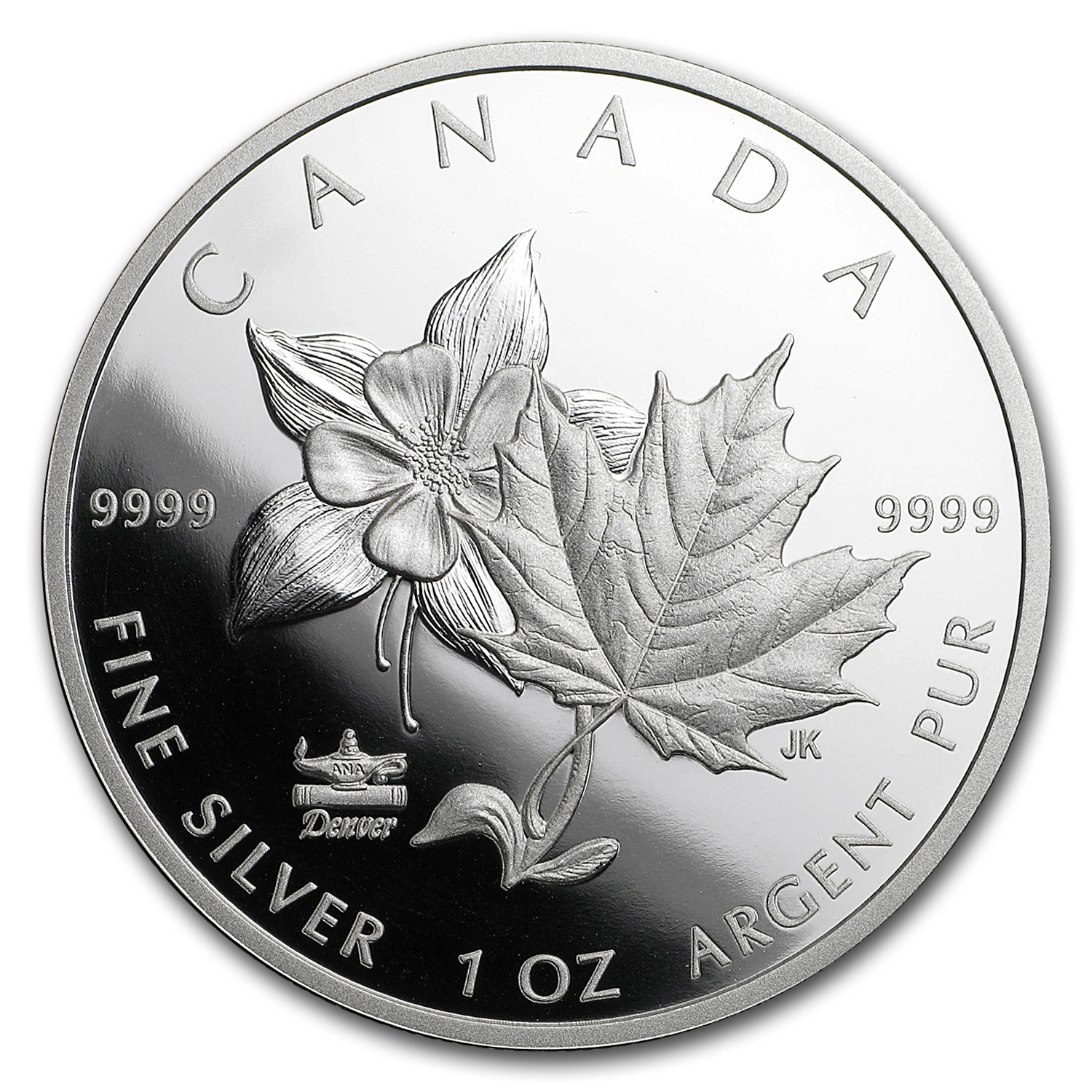 2017 Canada 1 oz Silver $5 ANA World's Fair of Money