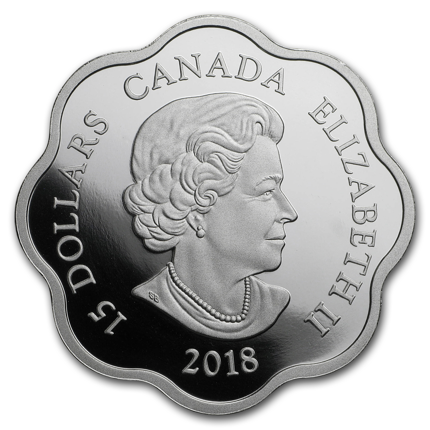 2018 Canada Silver $15 Lunar Lotus Year of the Dog Proof