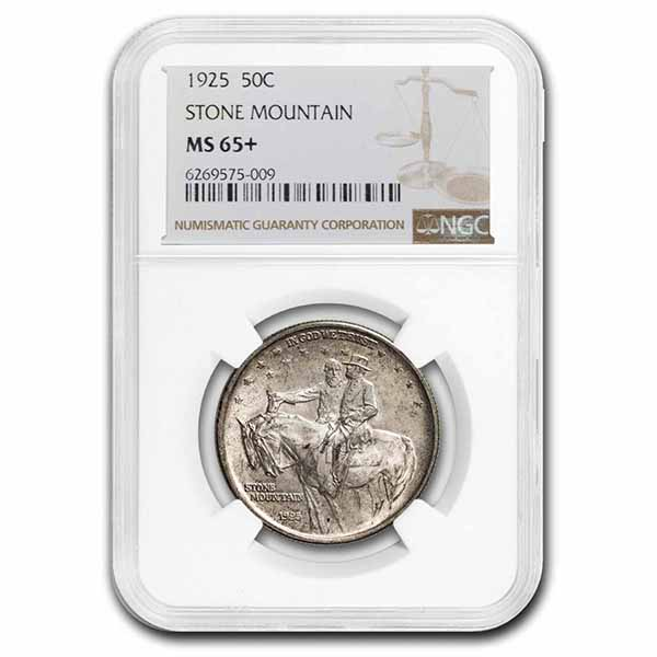 1925 Stone Mountain Memorial Half Dollar MS-65 NGC