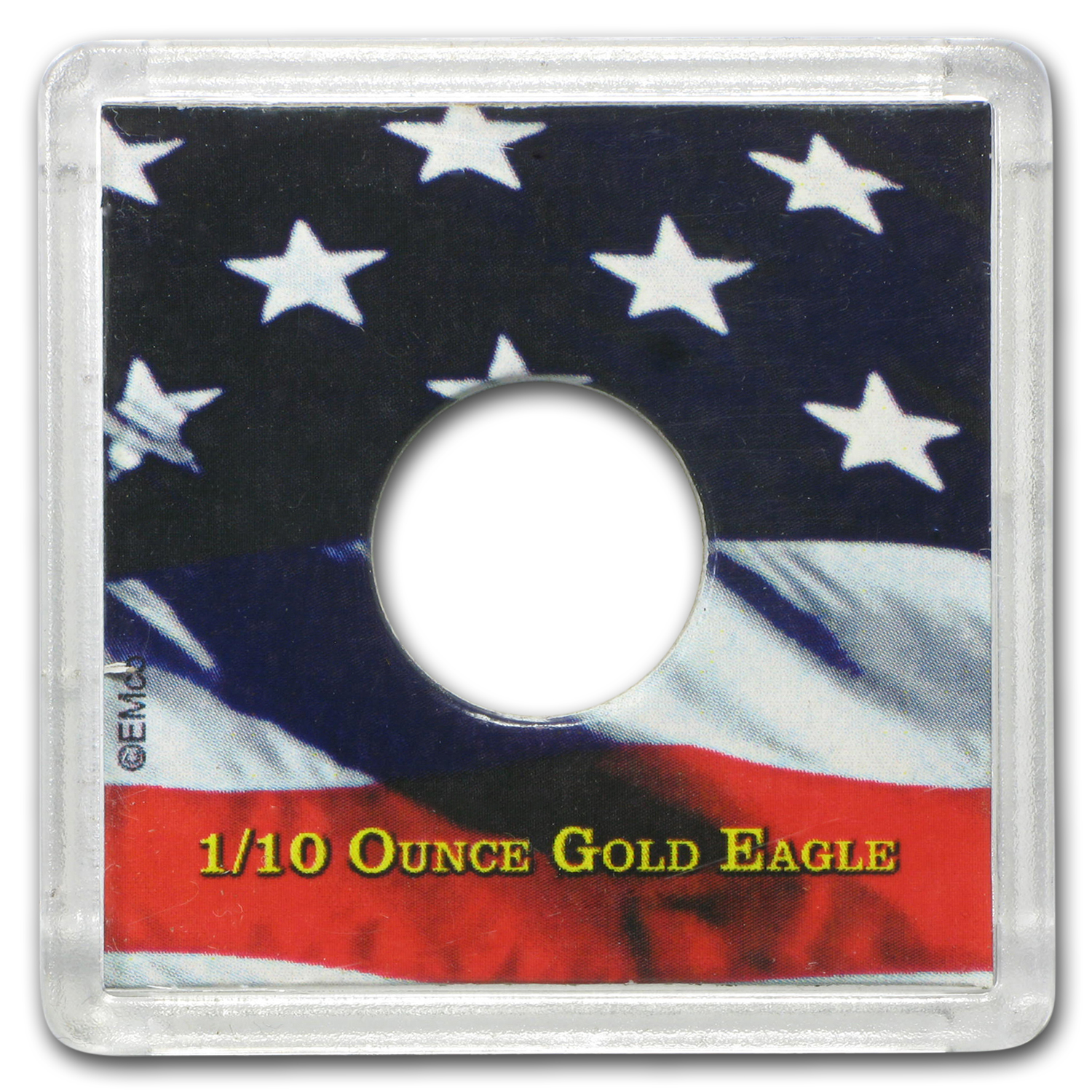 American Gold Eagle Coin Display - 1/10 oz