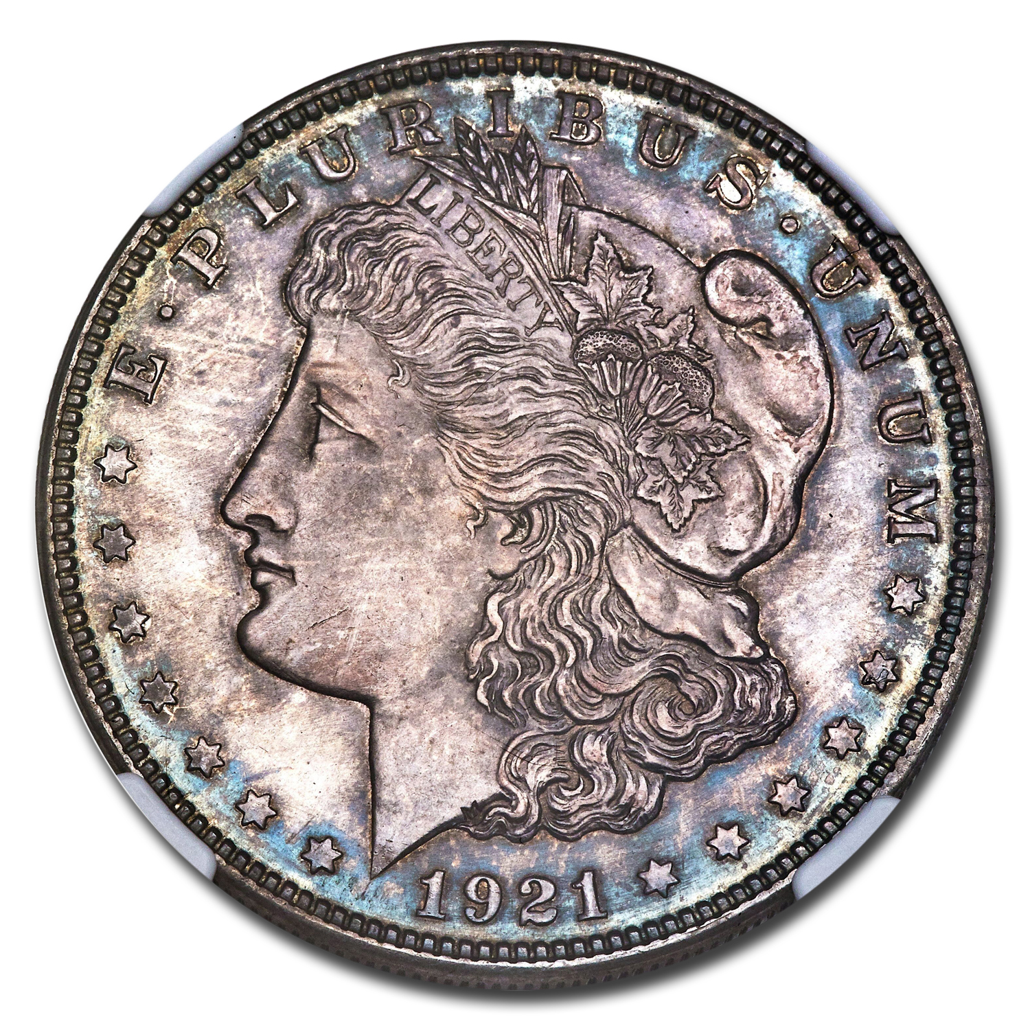 1921 Morgan Dollar PF-64 NGC (Zerbe)