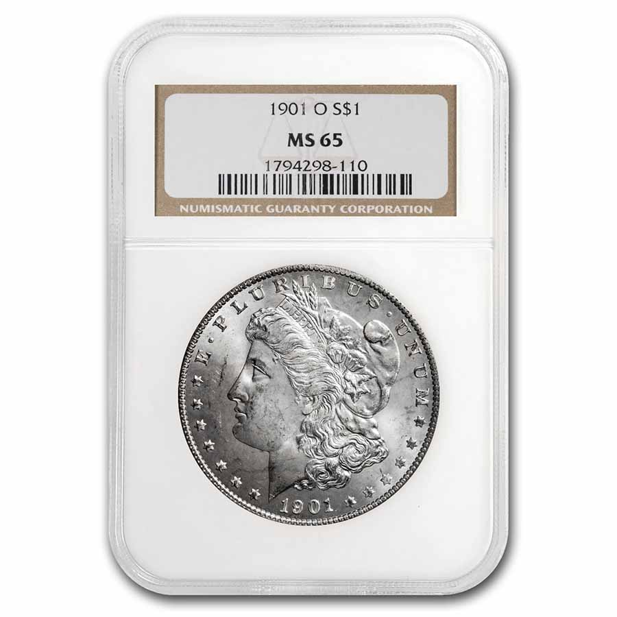 1901-O Morgan Dollar MS-65 NGC