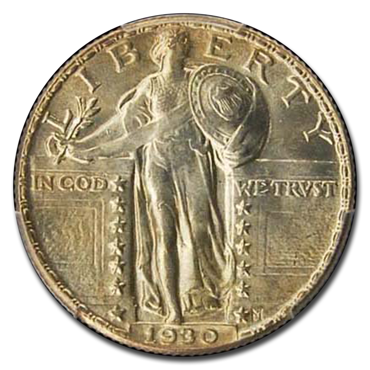 1930 Standing Liberty Quarter MS-65 PCGS (Full Head)