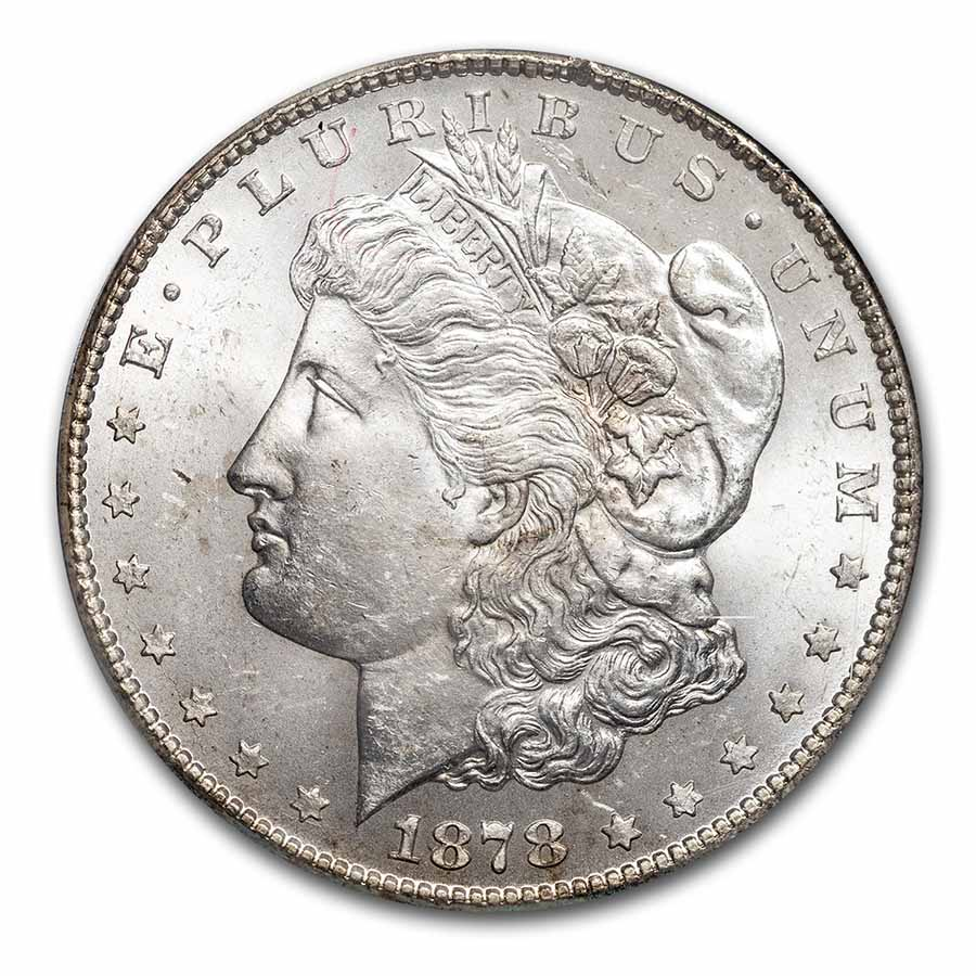 1878-CC Morgan Dollar - MS-63 PCGS