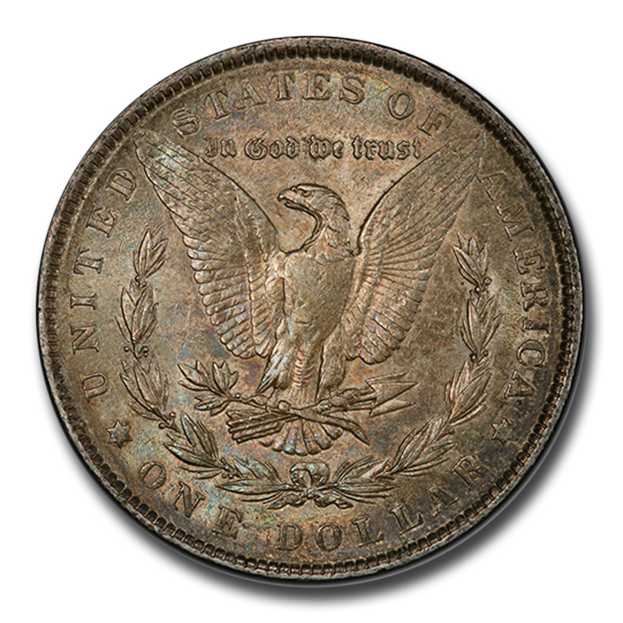 1901 Morgan Dollar Almost Uncirculated-58 PCGS