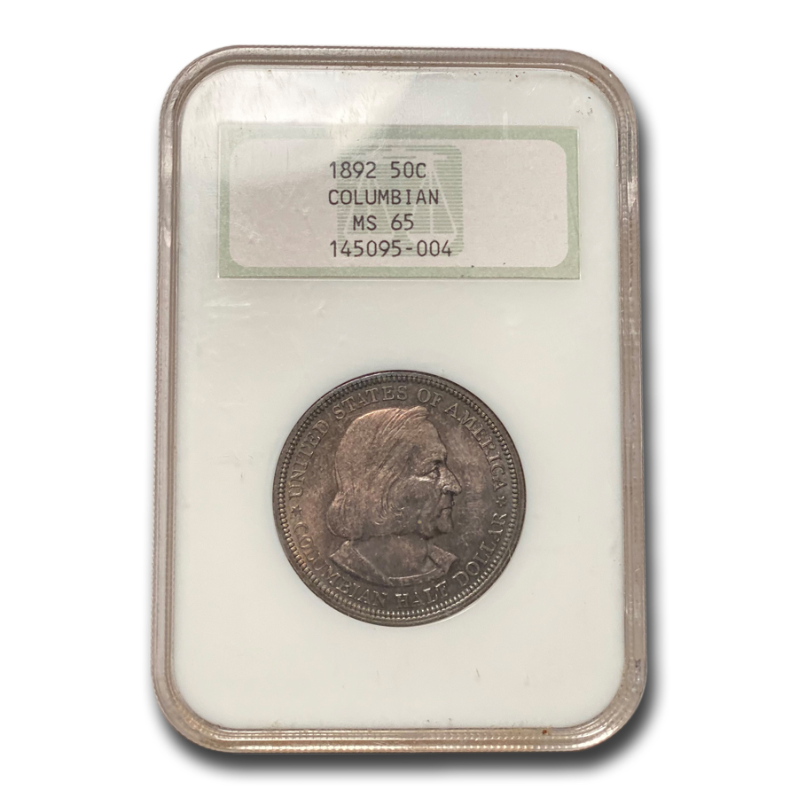 1892 Columbian Expo Half Dollar MS-65 NGC