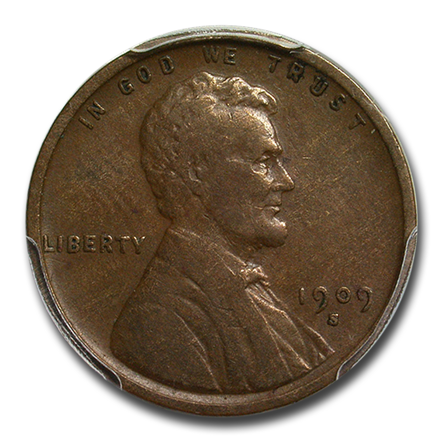 1909-S VDB Lincoln Cent VF-20 PCGS