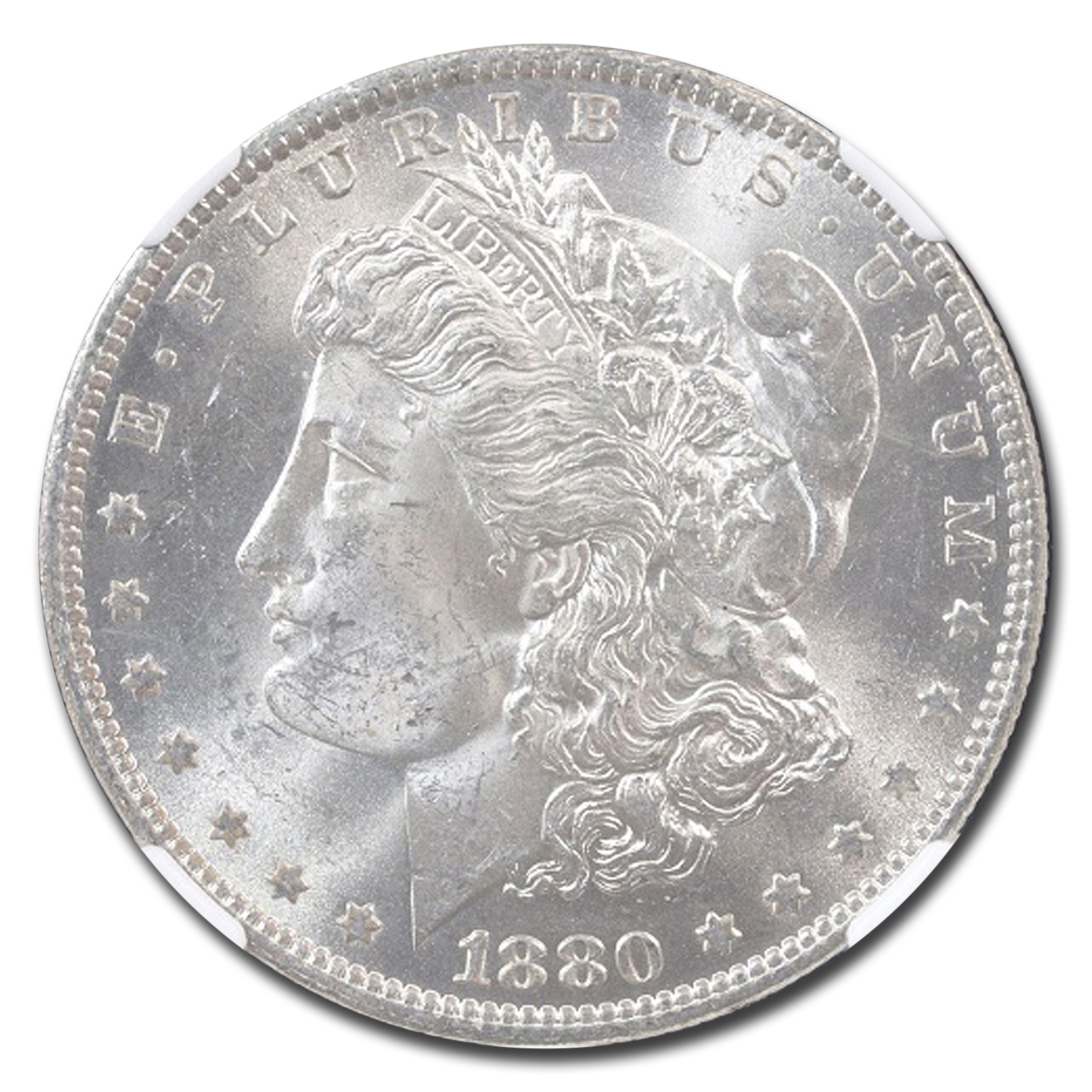 1880-O Morgan Dollar MS-63 NGC