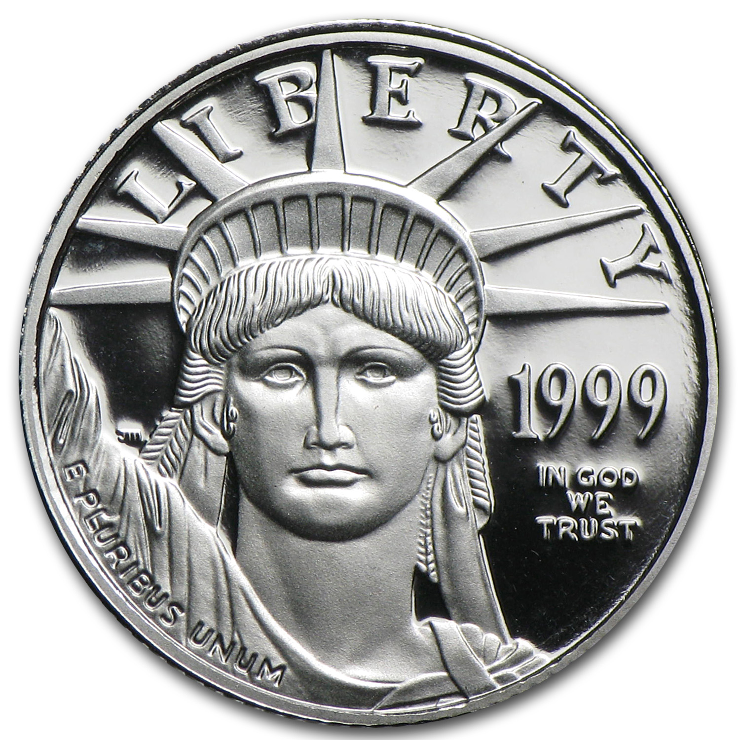 1999-W 1/10 oz Proof Platinum American Eagle (w/Box & COA)