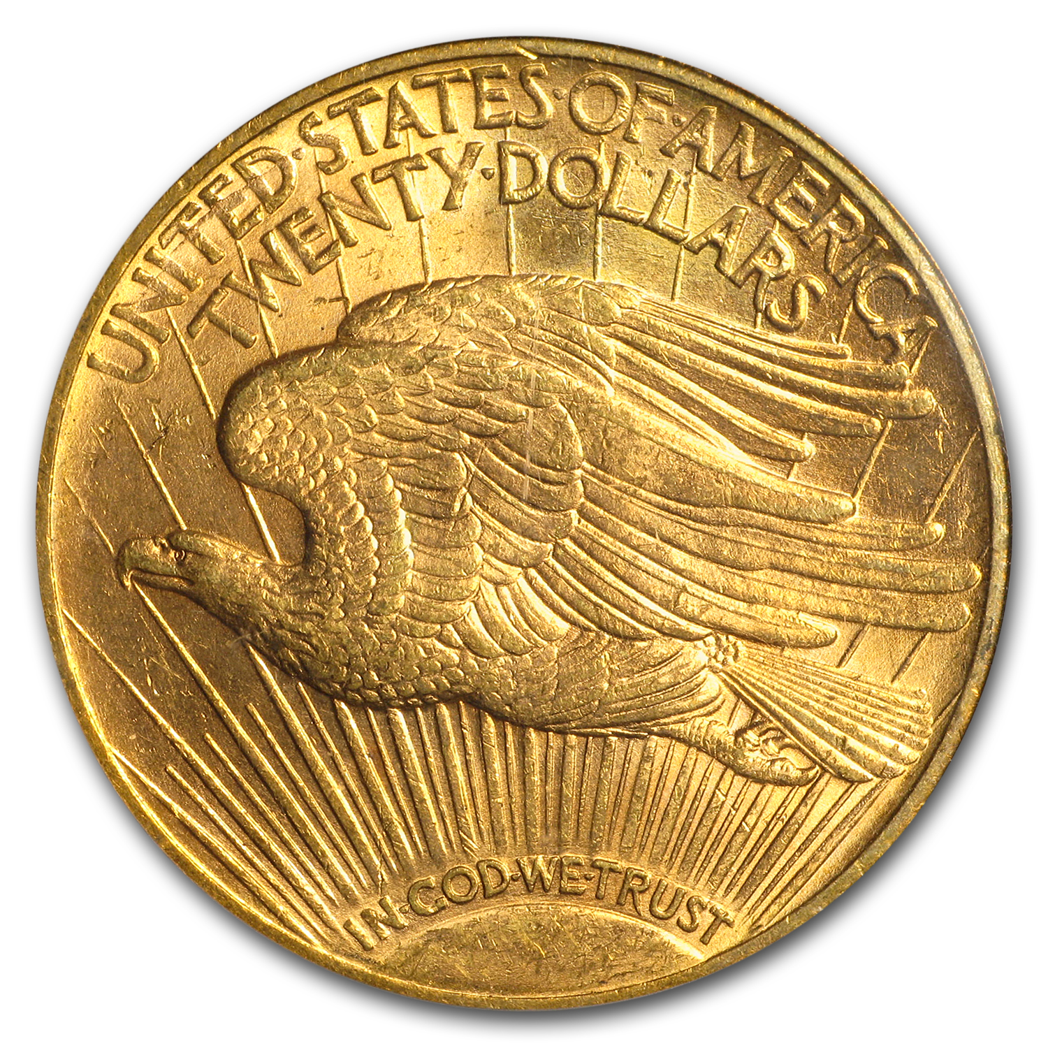 1922 $20 St. Gaudens Gold Double Eagle MS-62 PCGS