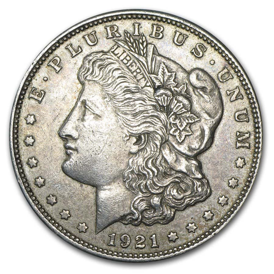 1921 (P, D, or S Mint) Morgan Dollars (VG - XF)