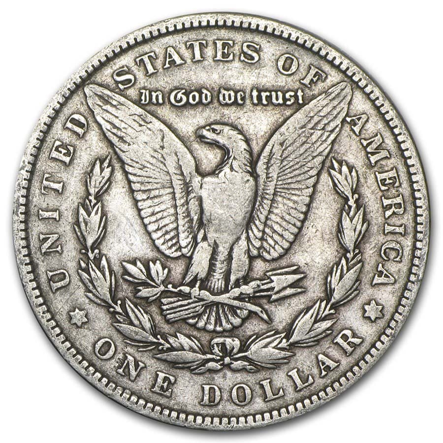 1878-1904 Morgan Silver Dollars VG - VF
