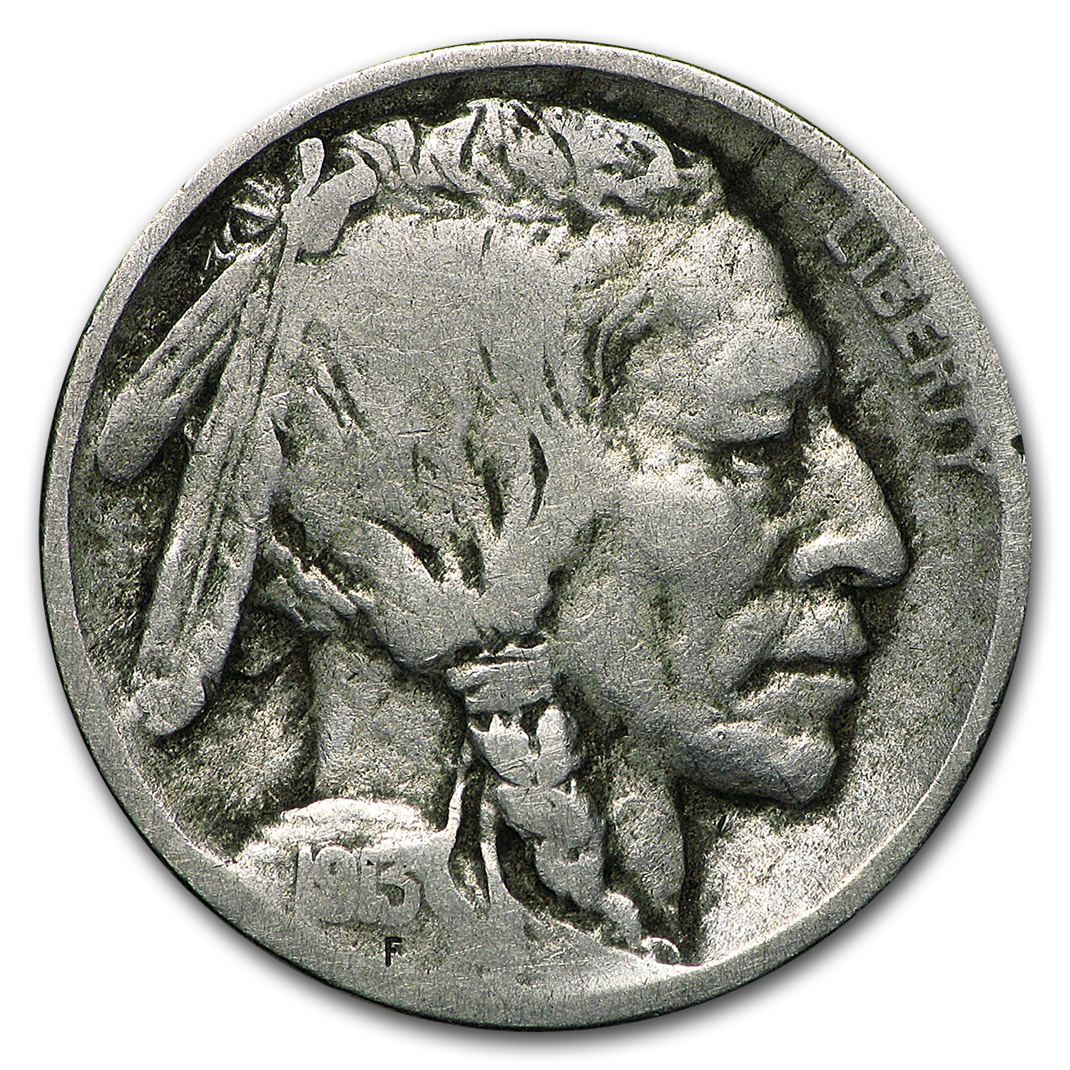 1913-D Type-II Buffalo Nickel Good