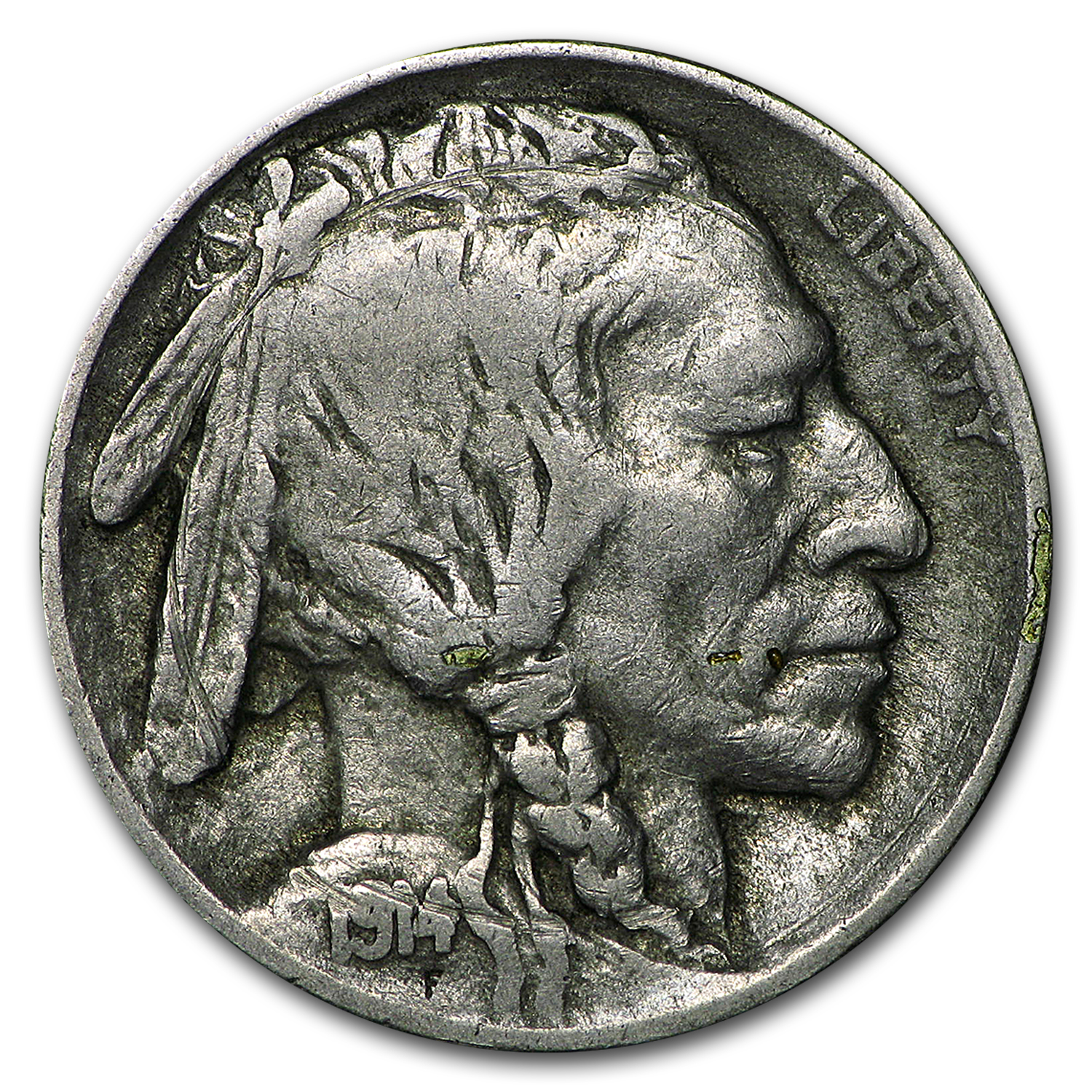 1914-D Buffalo Nickel Fine