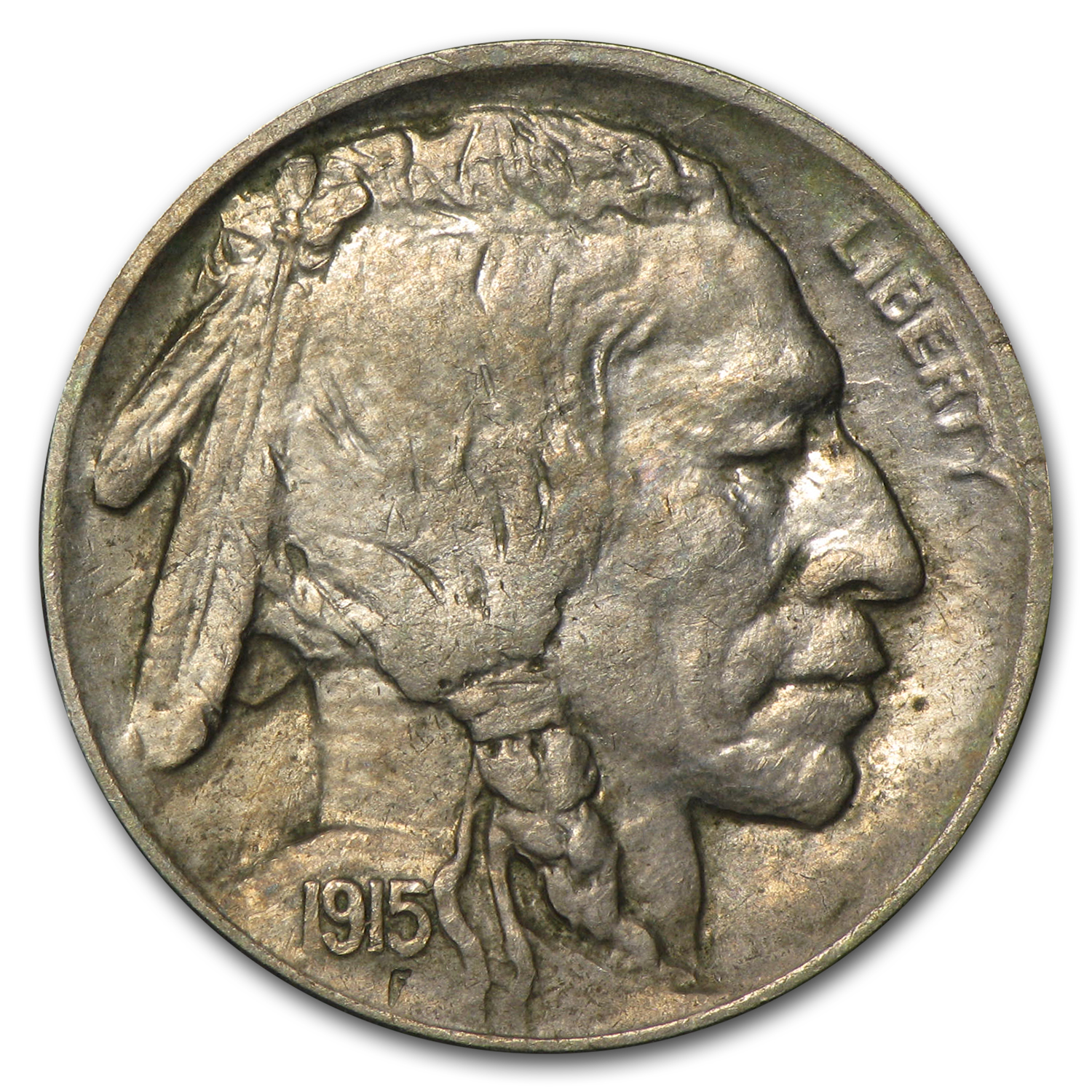 1915-D Buffalo Nickel XF