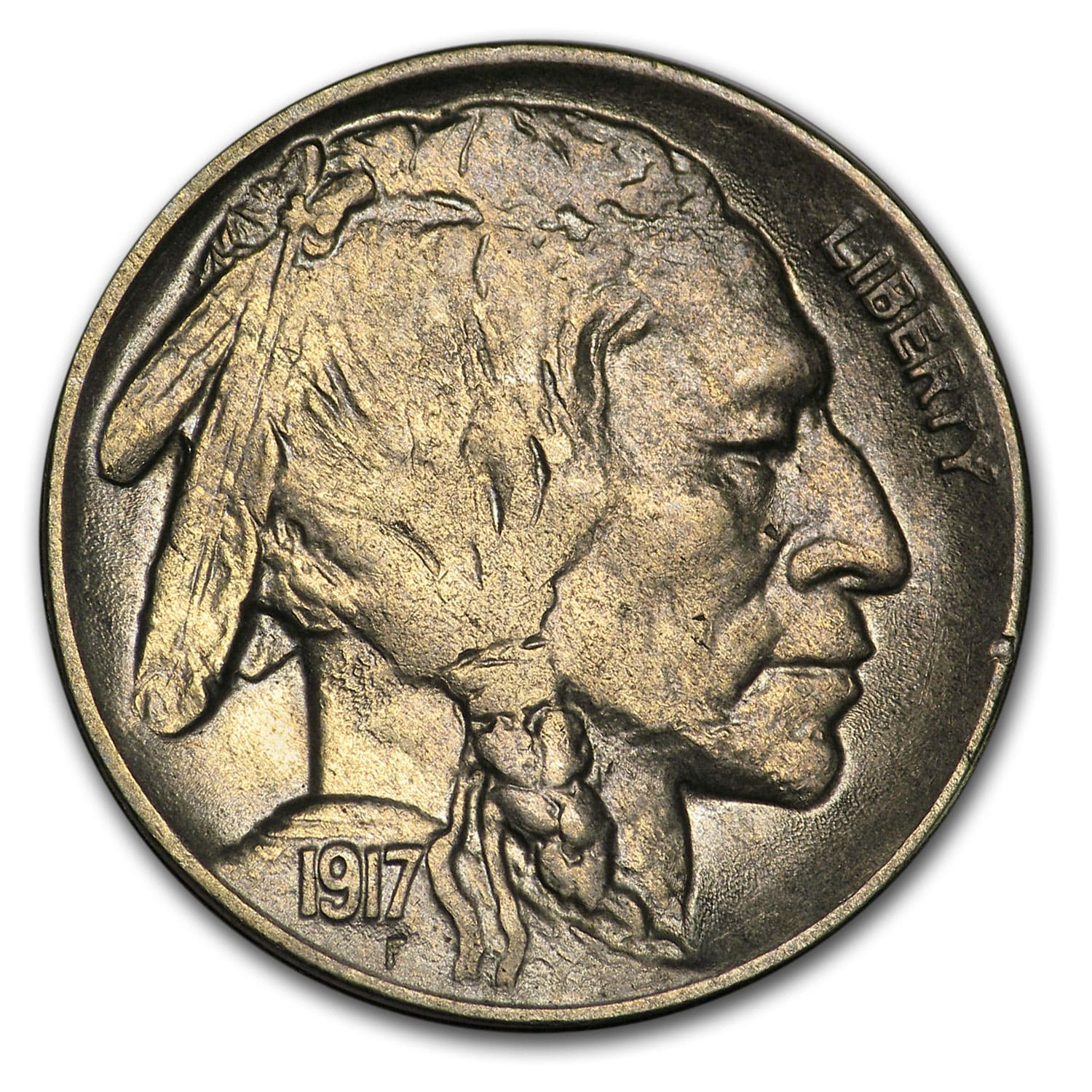 1917 D Buffalo Nickel Au Buffalo Nickels 1913 1938