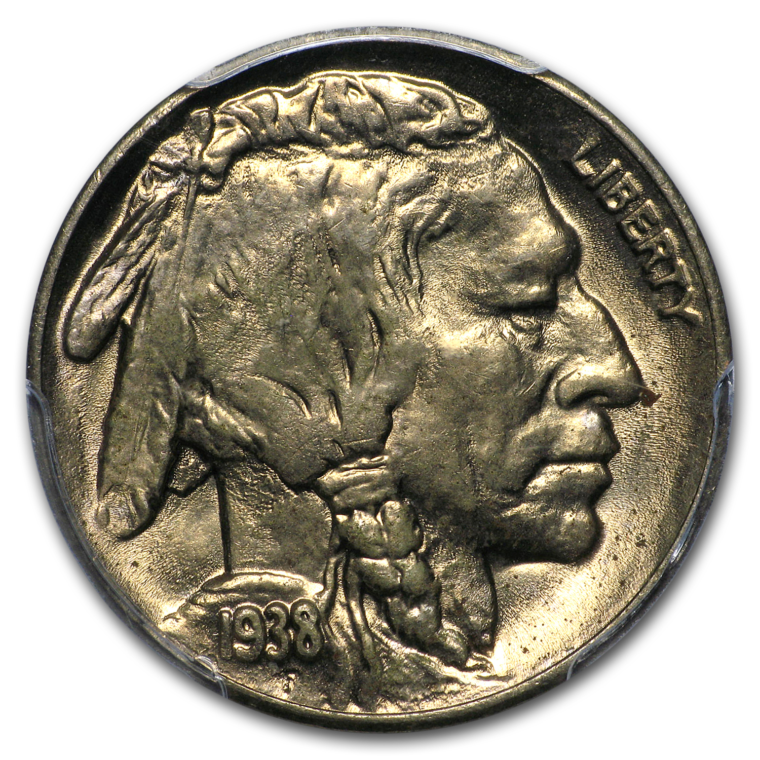 1938-D/D Buffalo Nickel MS-64