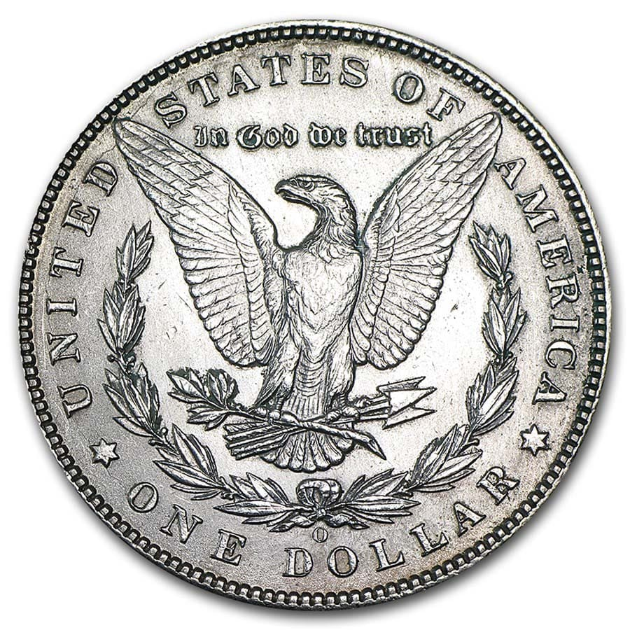 1878-1904 Morgan Silver Dollars AU