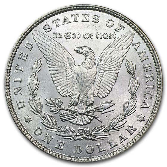 1878-1904 Morgan Silver Dollars (BU)