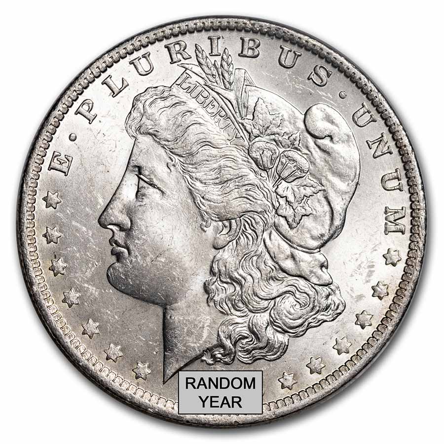 1878-1904 Morgan Silver Dollars BU (Random Year)