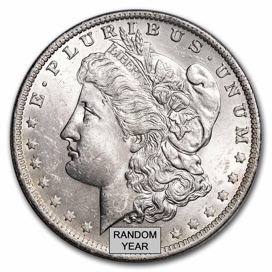 Uncirculated Morgan Silver Dollars 1878 1904 Brilliant