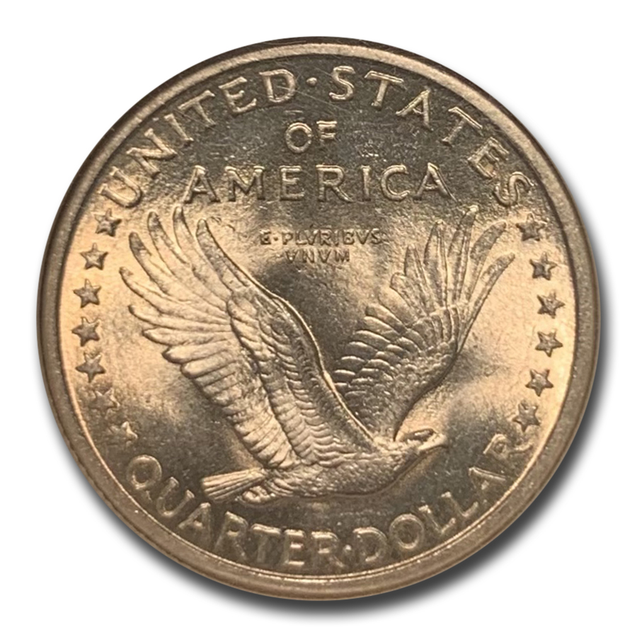 1917 Standing Liberty Quarter Type-I MS-65 NGC (Full Head)