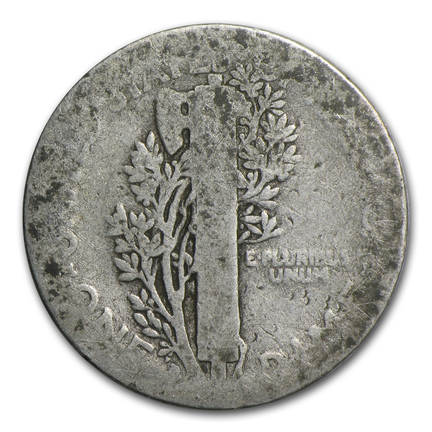 1916-D Mercury Dime - Almost Good