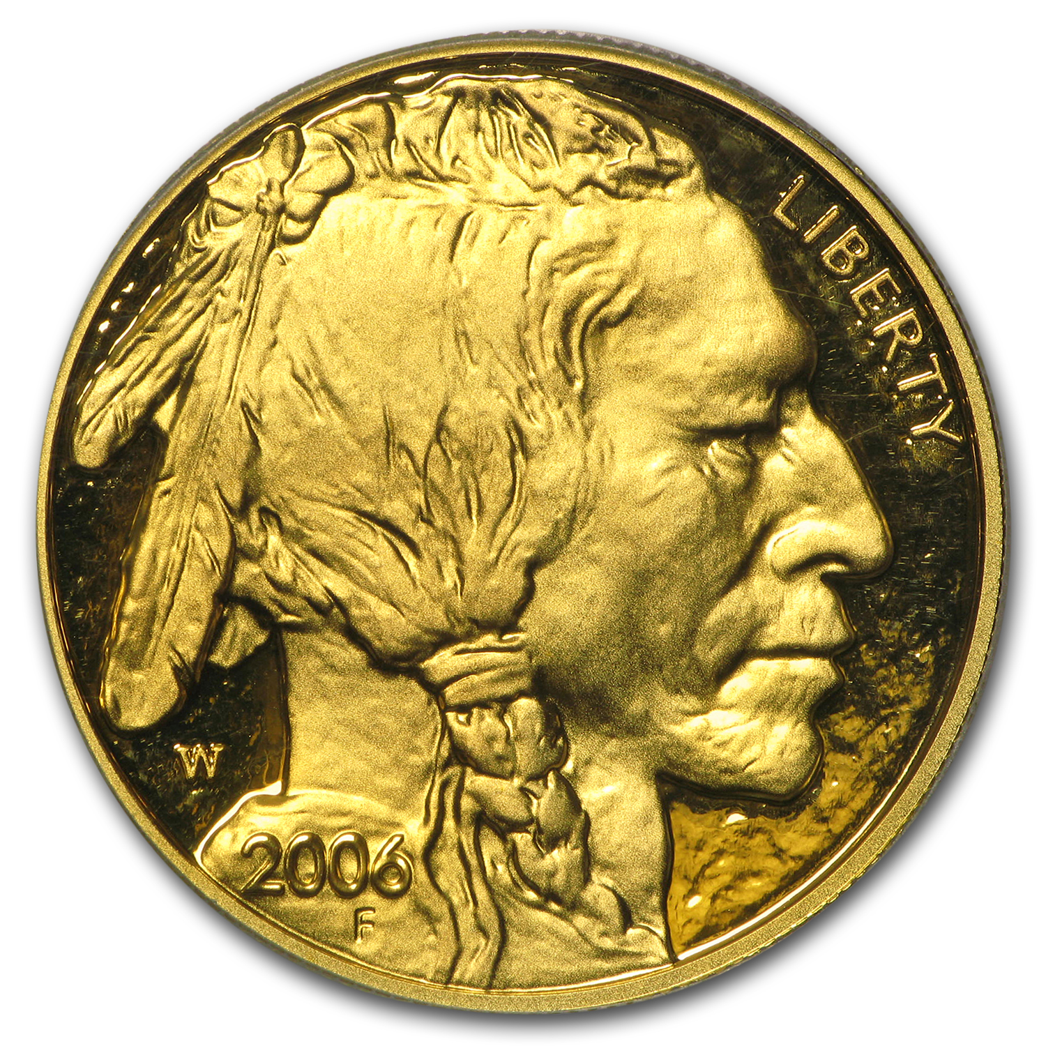 2006-W 1 oz Proof Gold Buffalo PR-69 PCGS (FS)