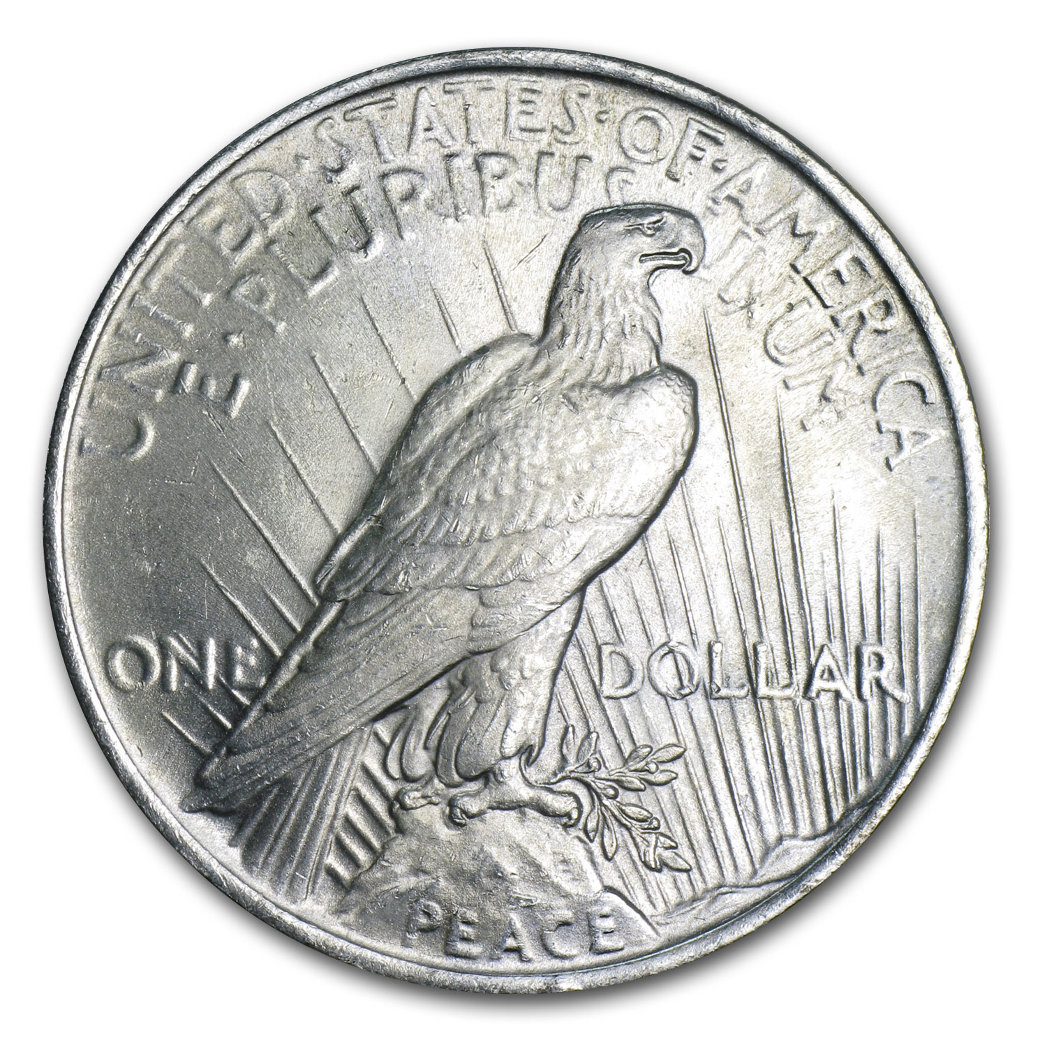 1922-1925 Peace Silver Dollars (Brilliant Uncirculated)