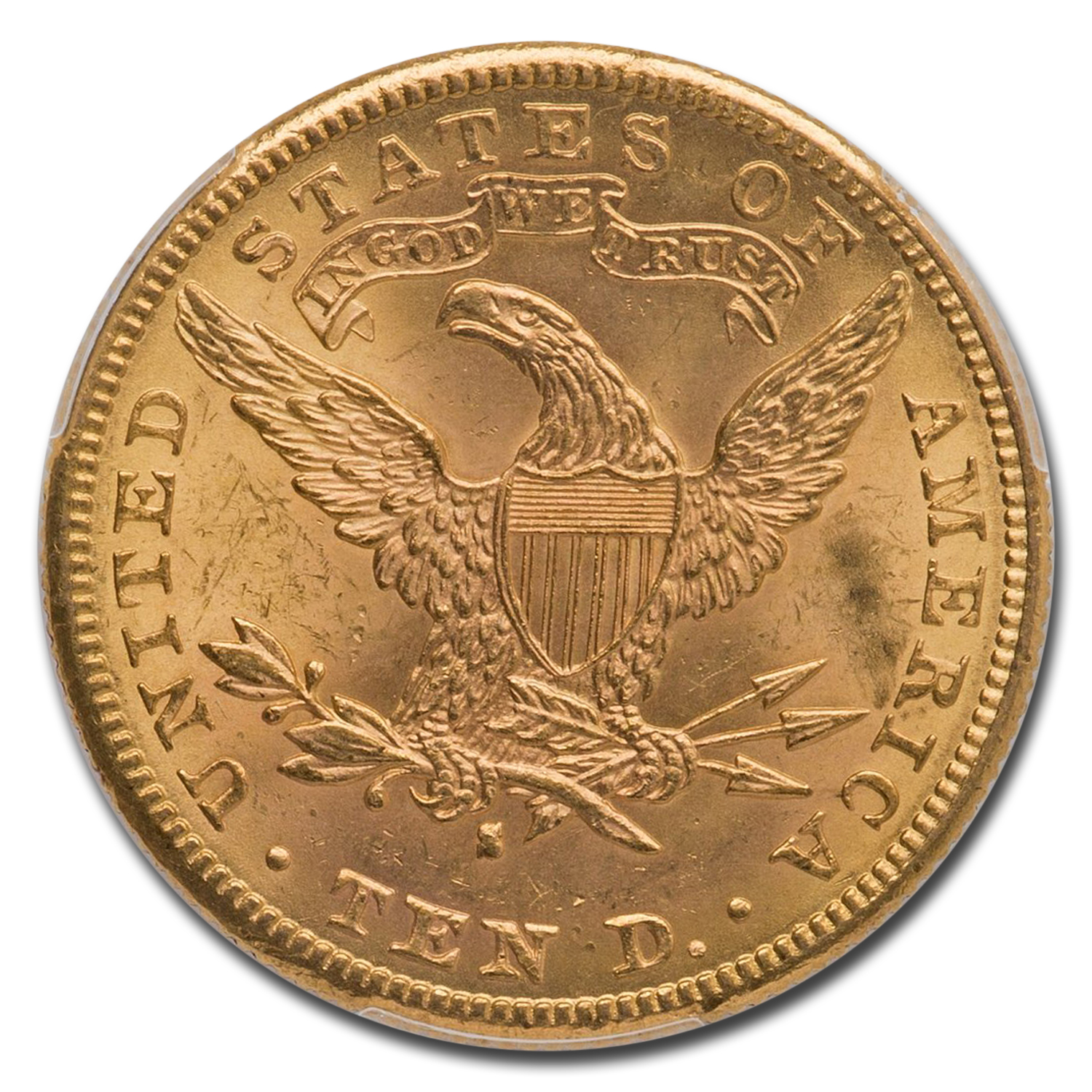 1886-S $10 Liberty Gold Eagle - MS-63 PCGS