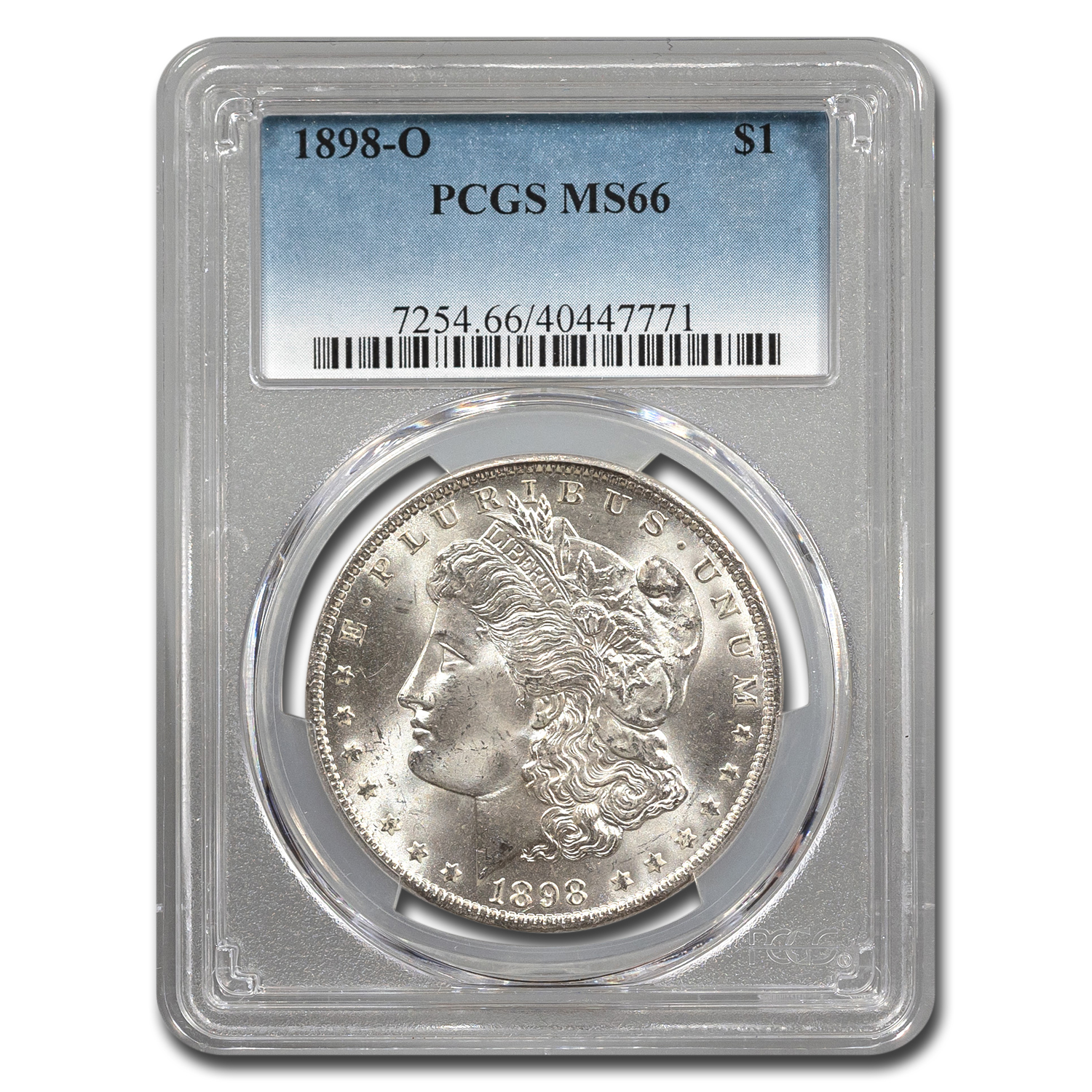 1898-O Morgan Dollar MS-66 PCGS