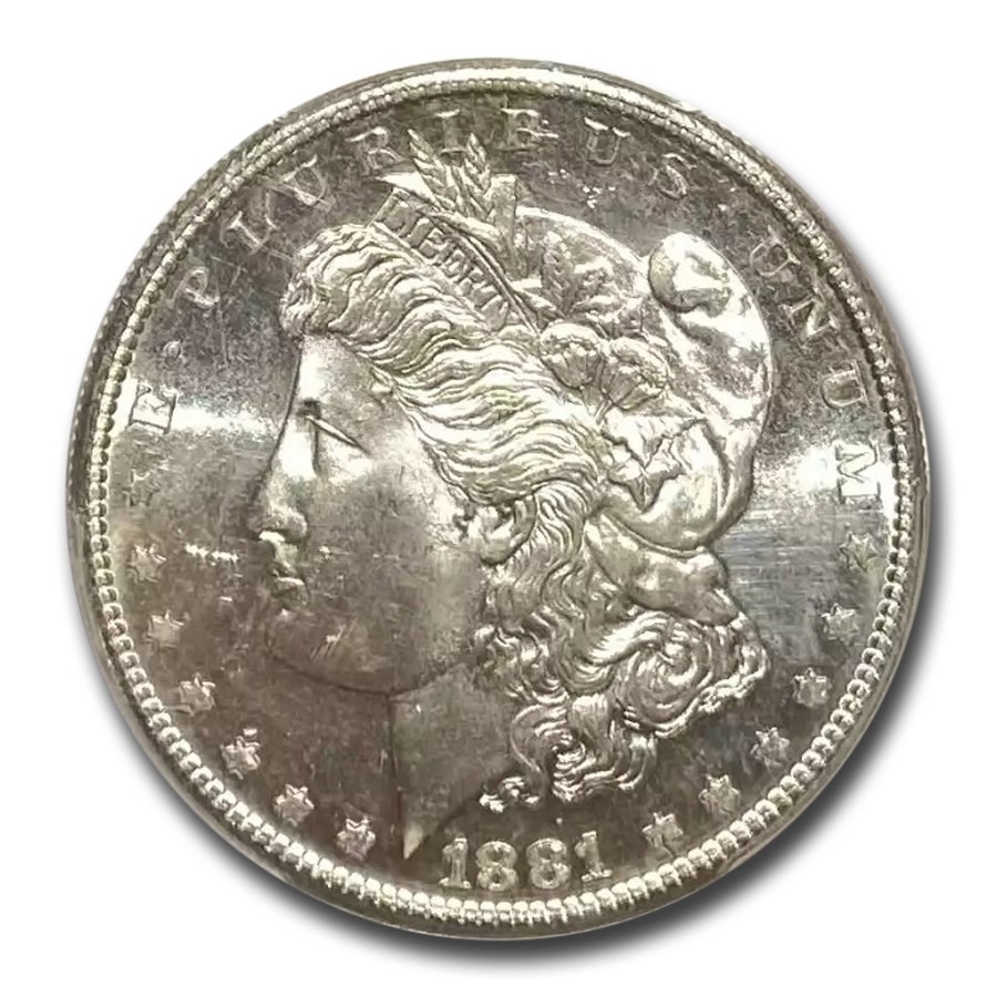 1881-S Morgan Dollar MS-64 PL Proof Like PCGS