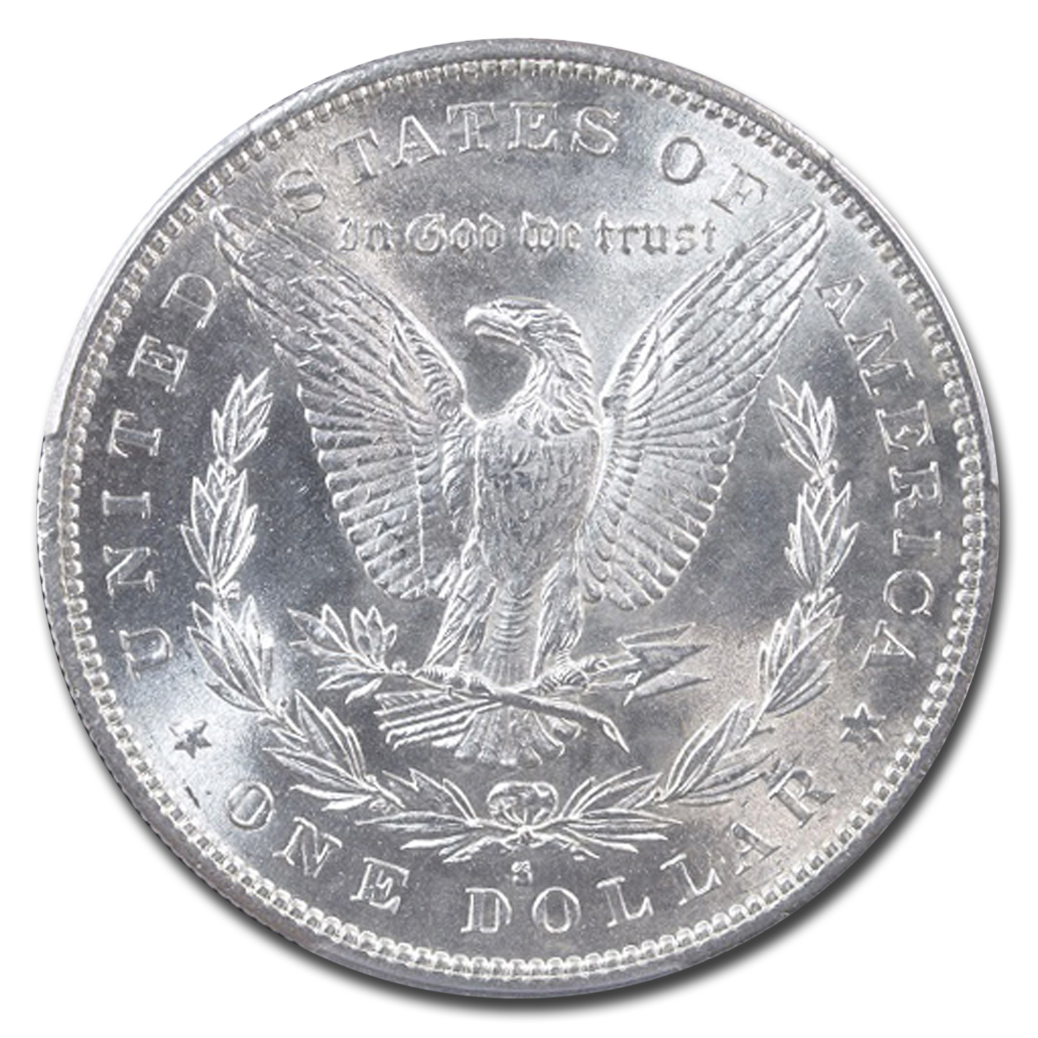1890-S Morgan Dollar MS-64 PCGS