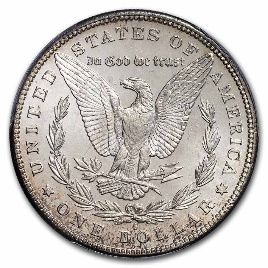 1900-S Morgan Dollar MS-63 PCGS