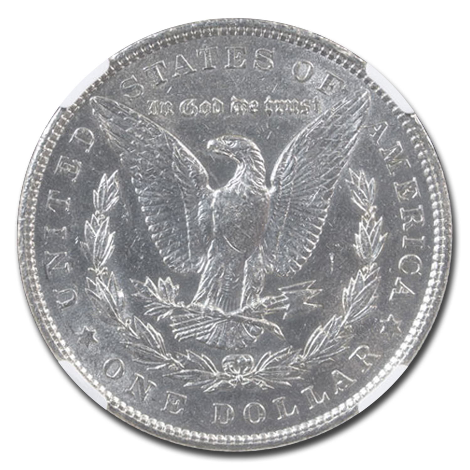 1901 Morgan Dollar Almost Uncirculated-58 NGC