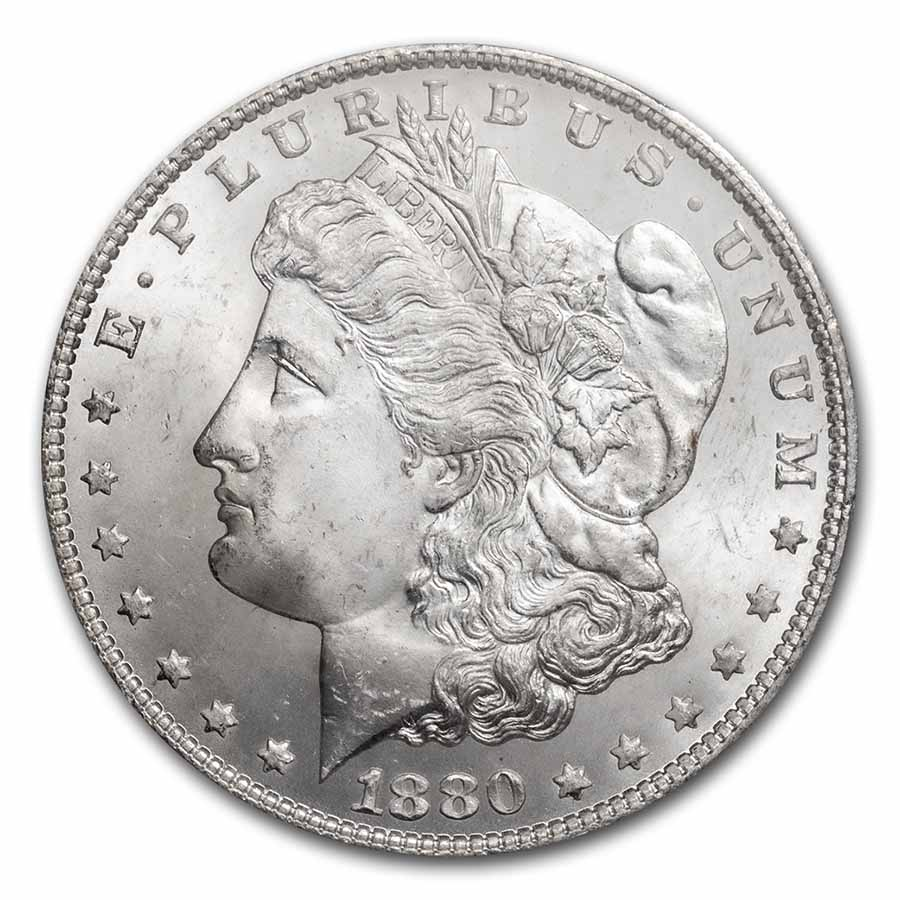 1880/9-S Morgan Dollar MS-65 PCGS