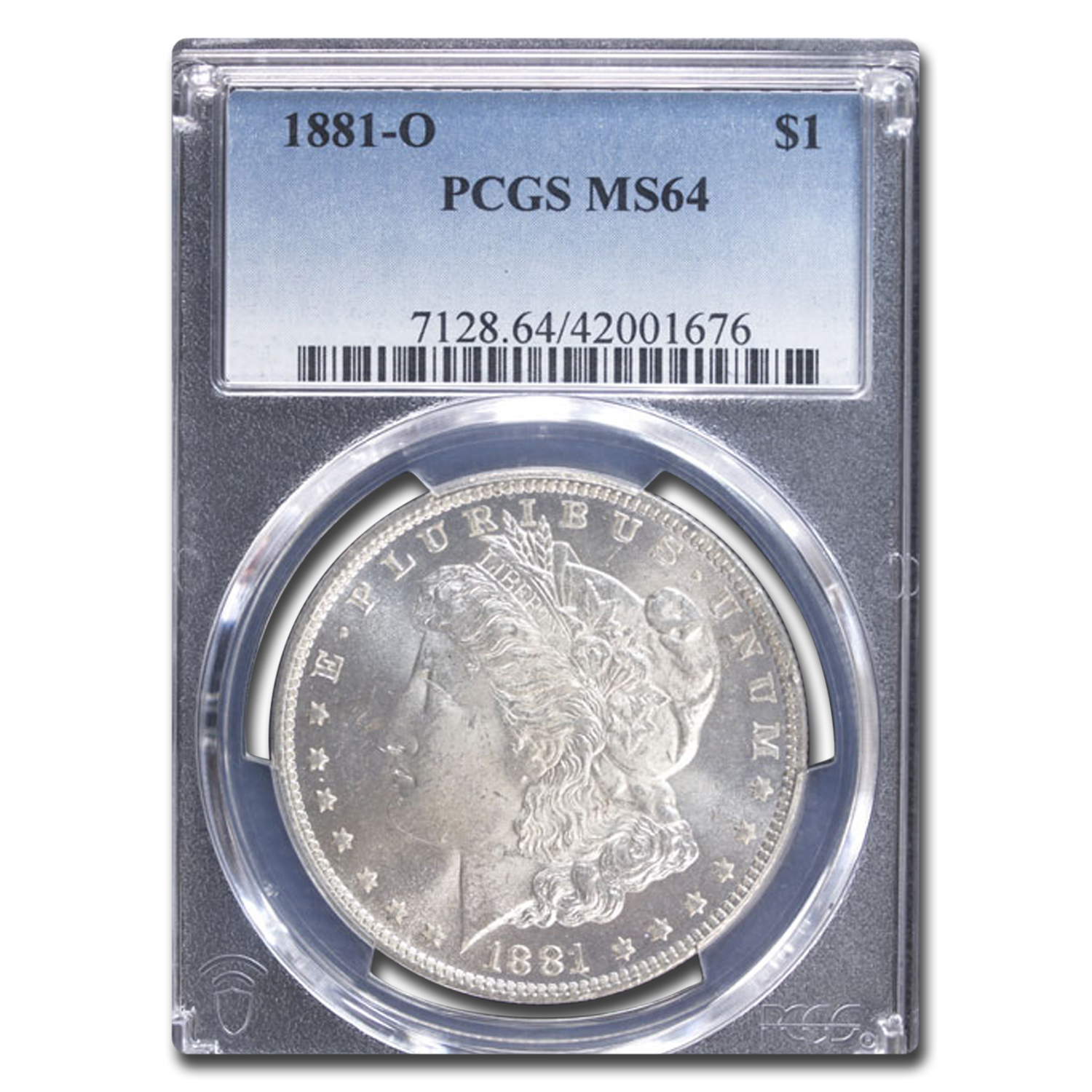 1881-O Morgan Dollar MS-64 PCGS