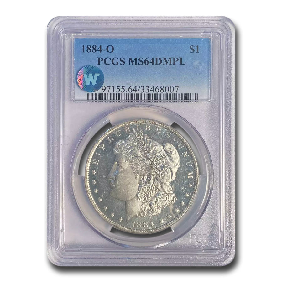 1884-O Morgan Dollar MS-64 DMPL PCGS