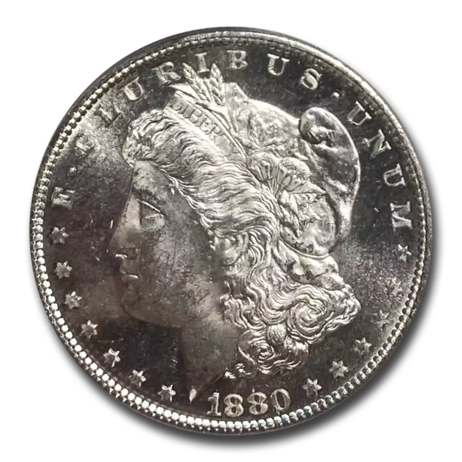 1880-S Morgan Dollar MS-64 PL Proof Like PCGS