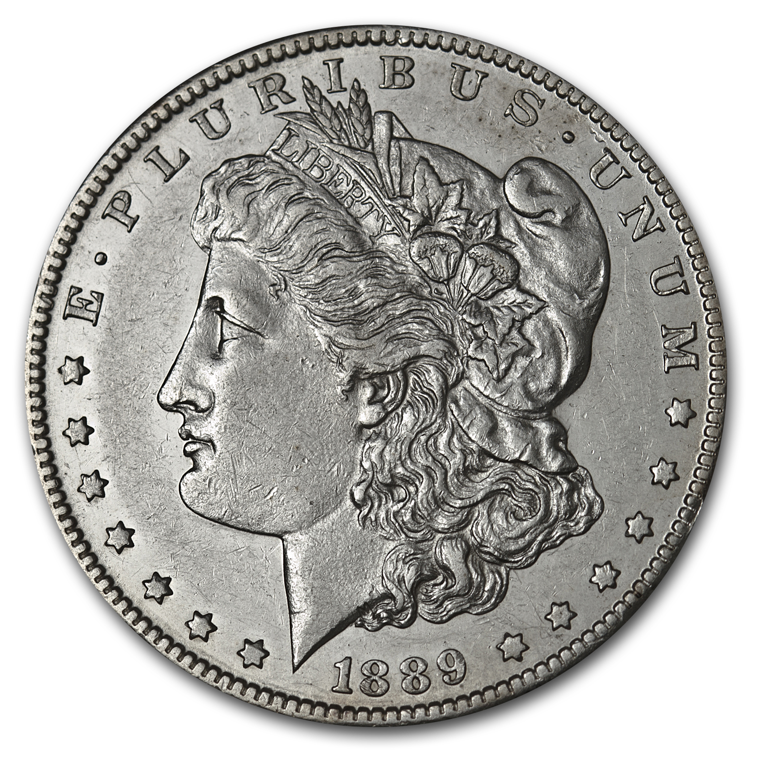 1889-CC Morgan Dollar - Almost Uncirculated - Key Date