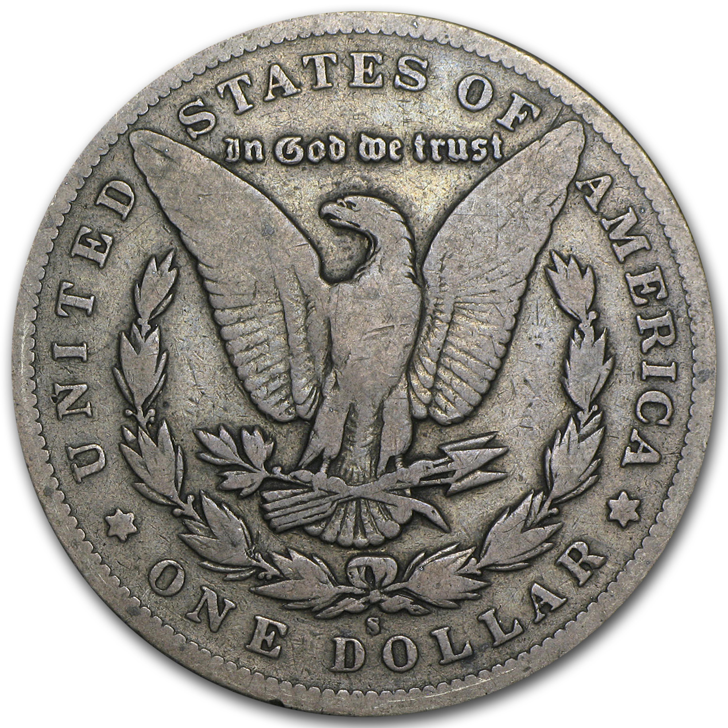 1895-S Morgan Dollar VG