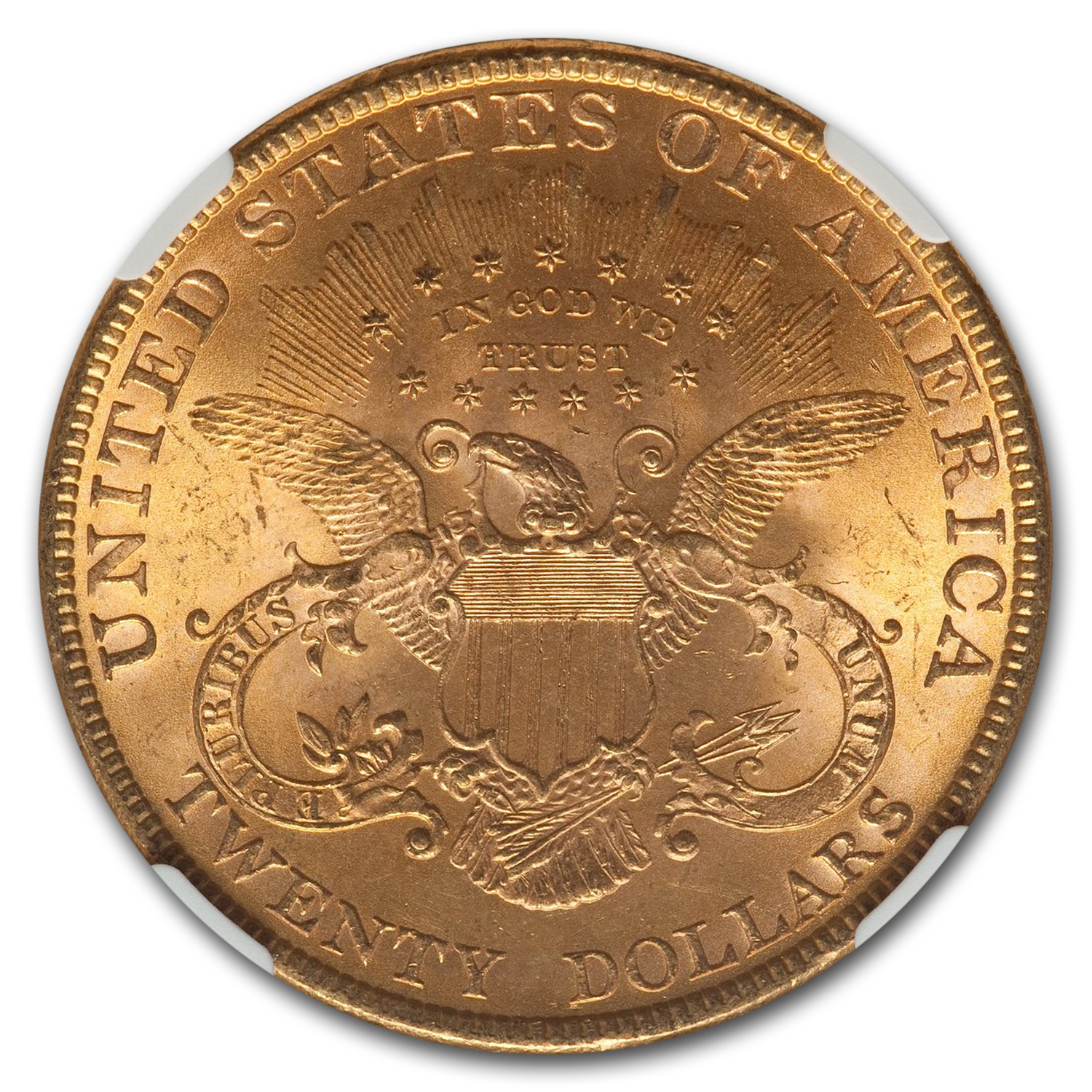 1899 $20 Gold Liberty Double Eagle - MS-64 NGC
