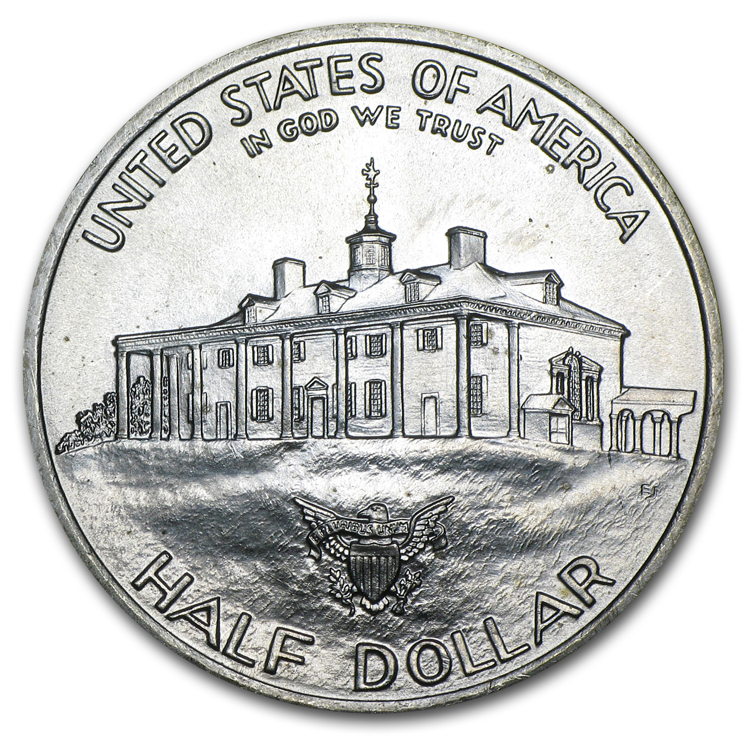 1982 Washington Half-Dollar 90% Silver Commemorative BU/Proof
